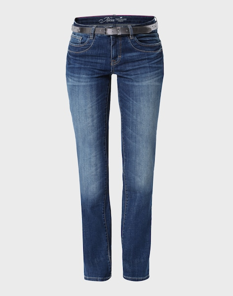 tom tailor straight leg jeans 39 alexa 39 in blau about you. Black Bedroom Furniture Sets. Home Design Ideas