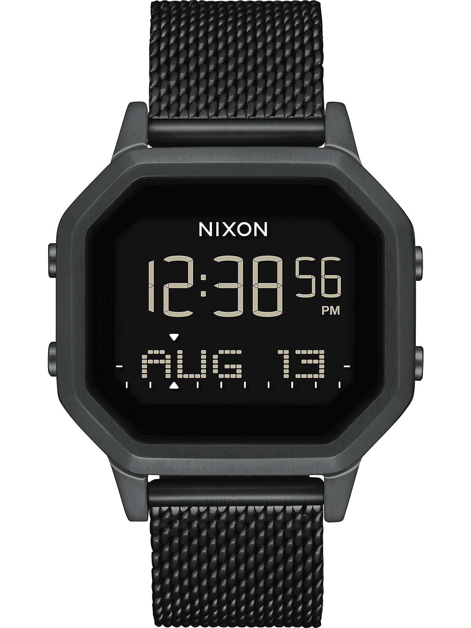 Nixon Elektroninis laikrodis juoda