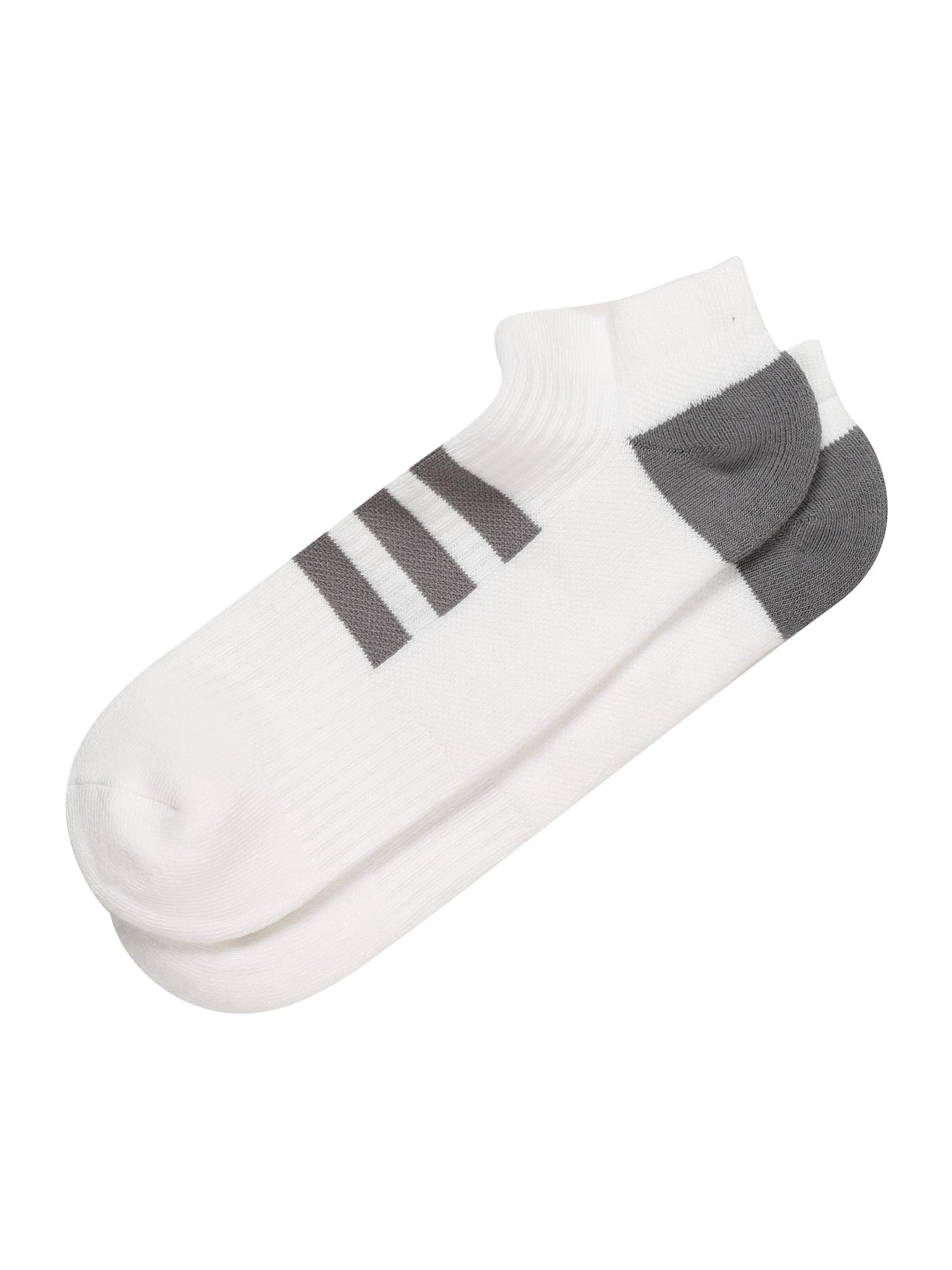 adidas Golf Sportinės kojinės pilka / balta