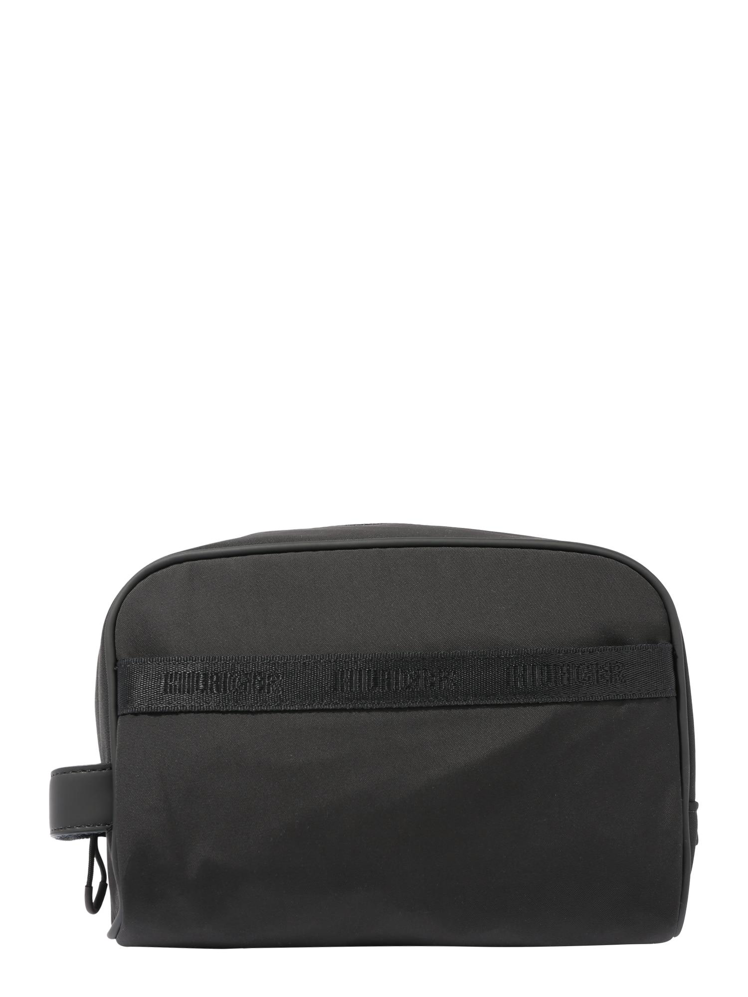 TOMMY HILFIGER Hygienická taška 'Urban'  čierna