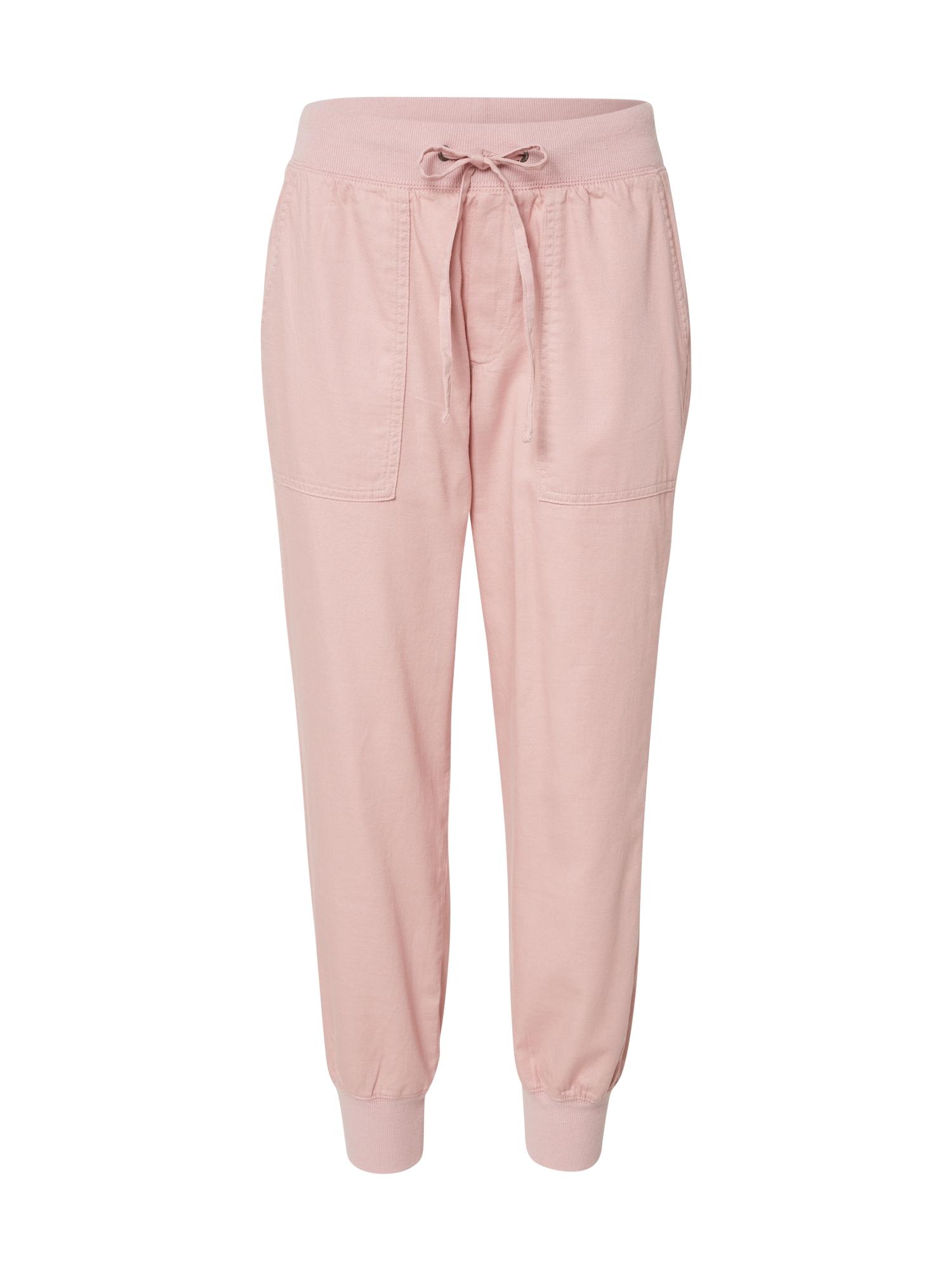 GAP Kelnės 'V-RIB UTILITY JOGGER' rožinė