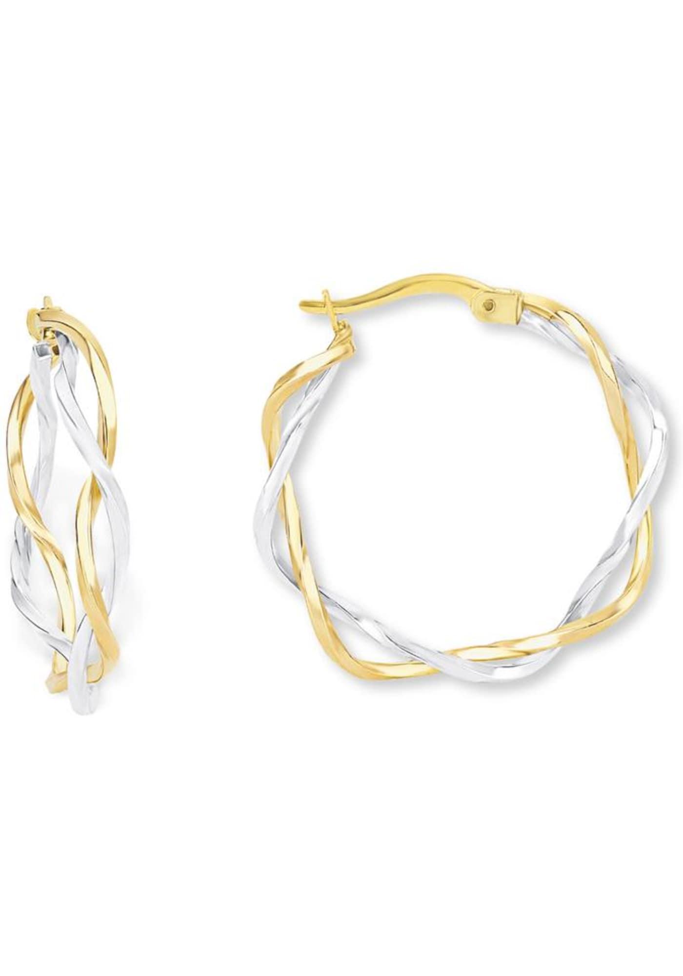 Ohrringe für Frauen - AMOR Creolen gold silber  - Onlineshop ABOUT YOU