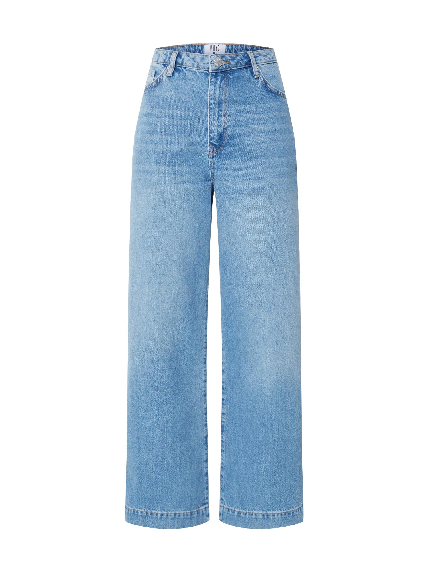 WHY7 Džinsai 'Milla' tamsiai (džinso) mėlyna