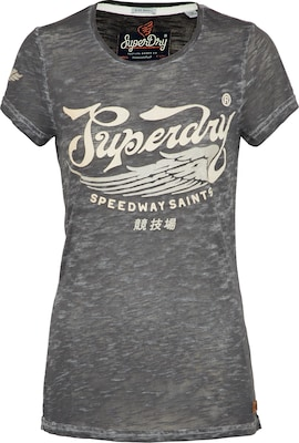 Superdry T-Shirt 'Speed Saints Burnout Tee'