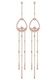 THOMAS SABO Damen Paar Ohrstecker Paisley-Design H1938-416-14 gold,weiß | 04051245299960