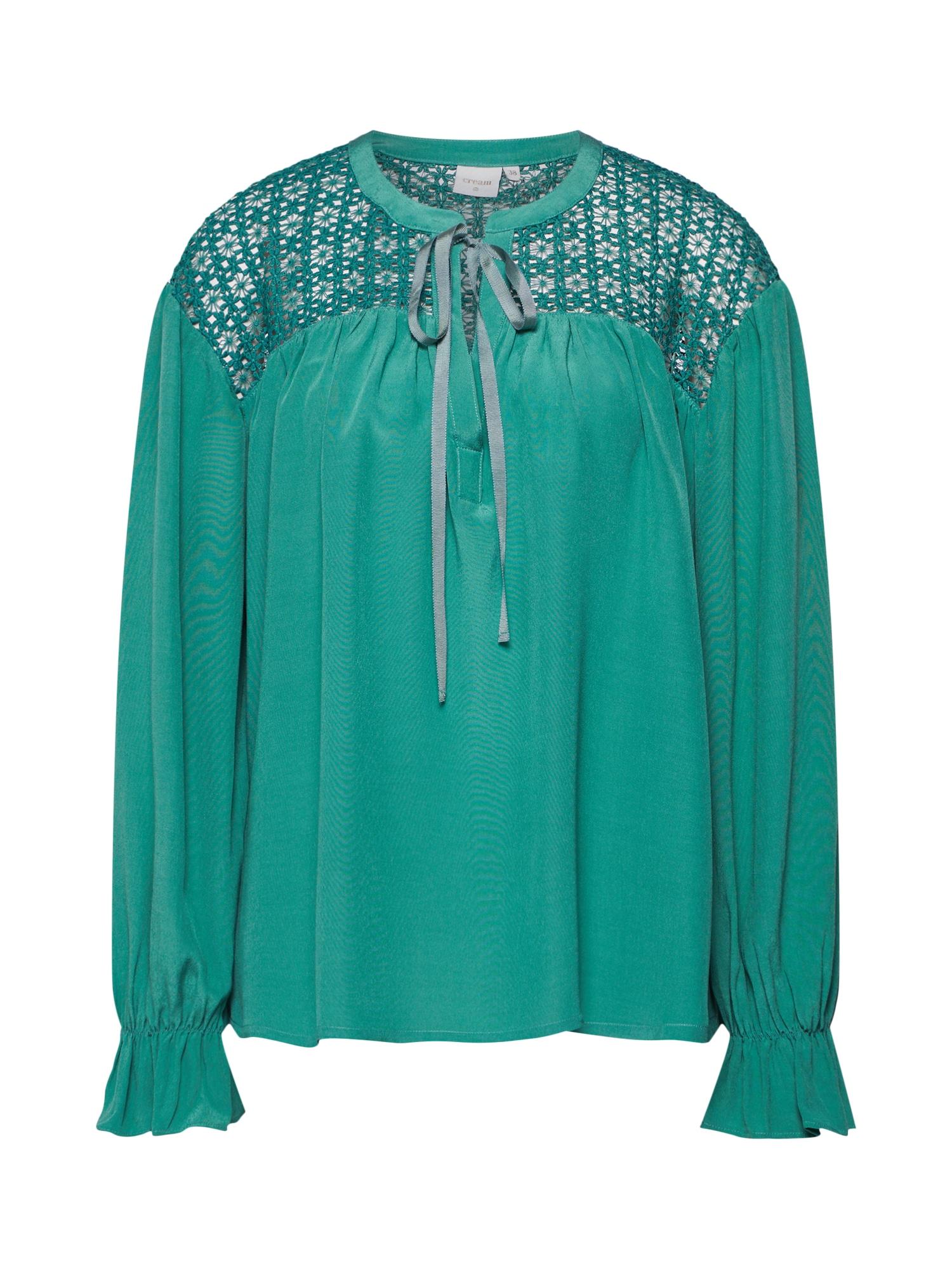 Cream Tunika 'Milanie' smaragdinė spalva