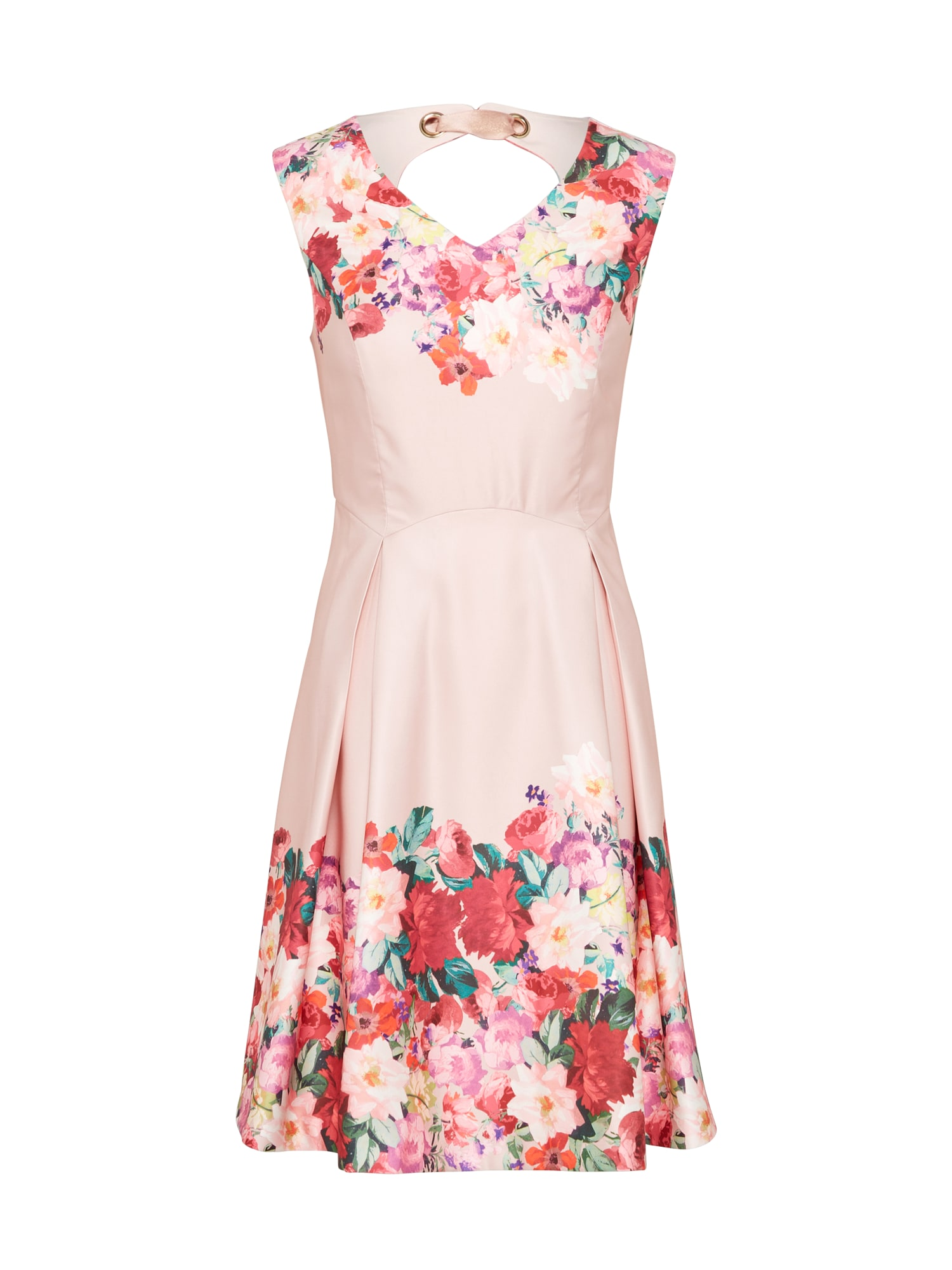 Koktejlové šaty růžová Yumi