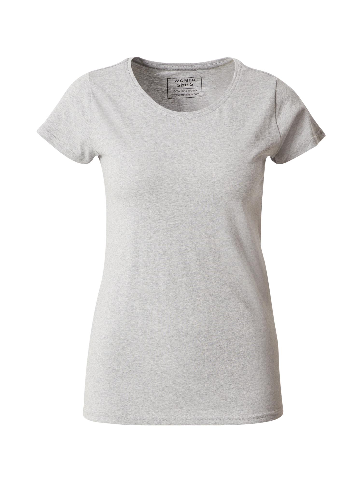 MELAWEAR Marškinėliai margai pilka