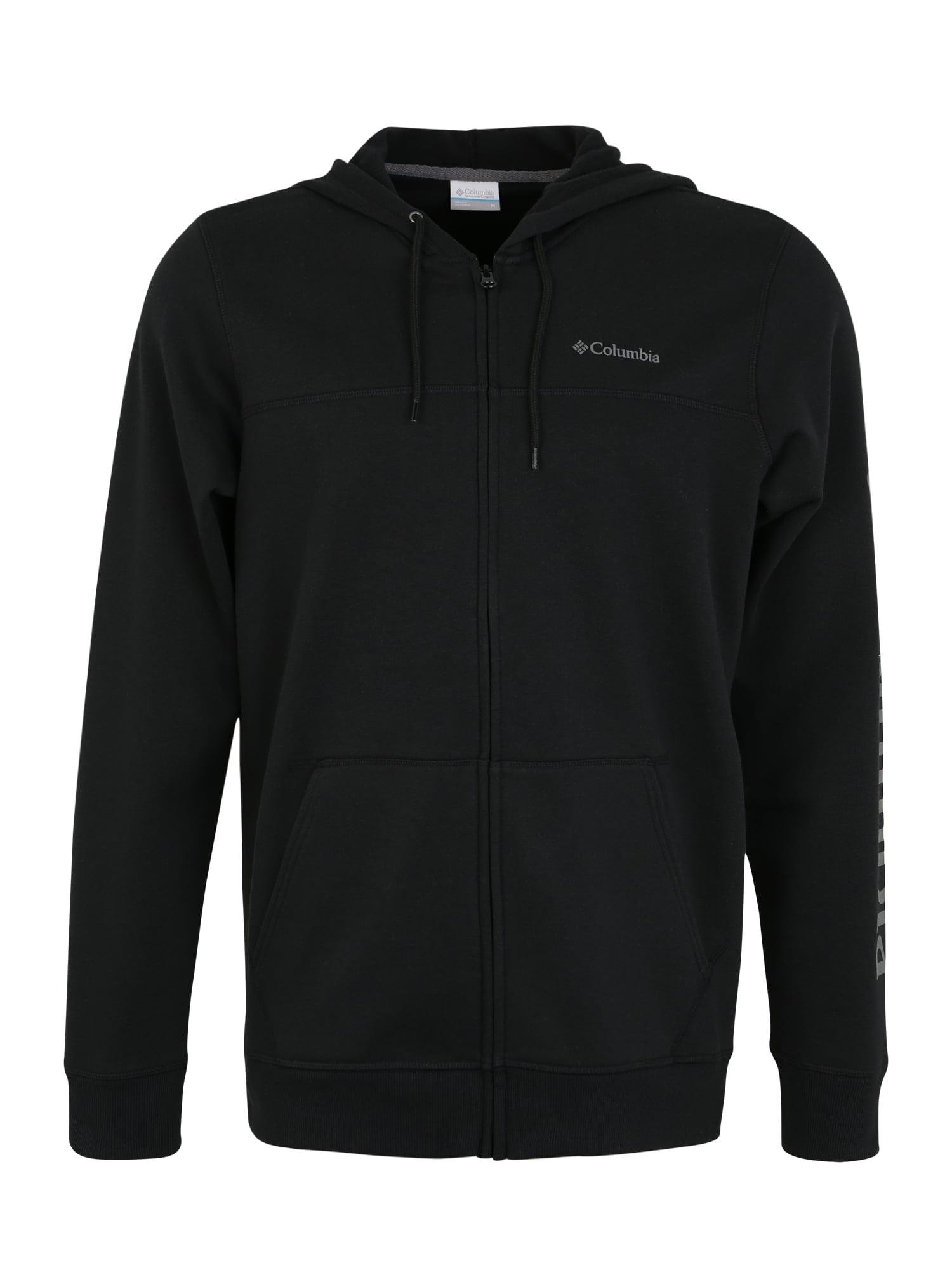 COLUMBIA Sportinis džemperis juoda