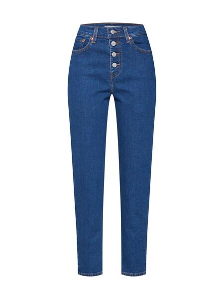 Hosen - Jeans 'EXPOSED BUTTON MOM JEAN' › Levi's › blue denim  - Onlineshop ABOUT YOU