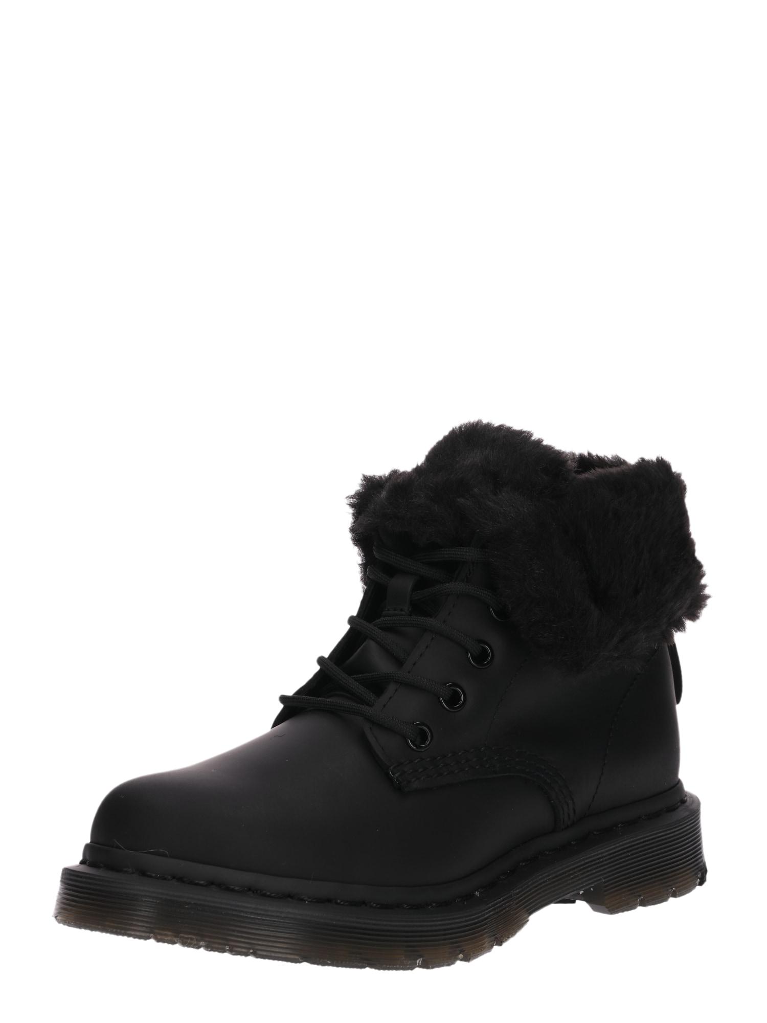 Kozačky 8 Eye Boot 1460 Kolbert černá Dr. Martens