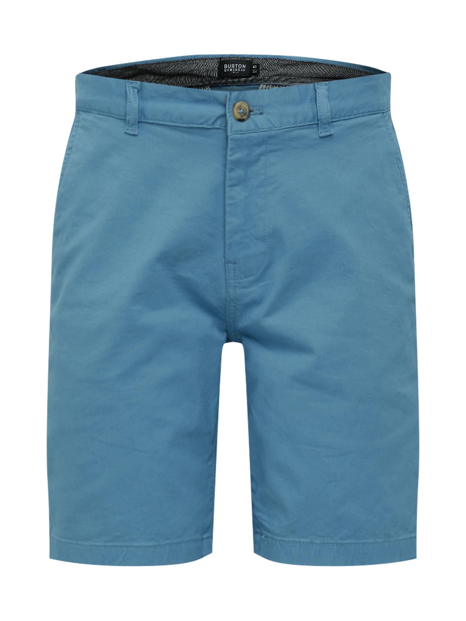 BURTON MENSWEAR LONDON Chino stiliaus kelnės mėlyna
