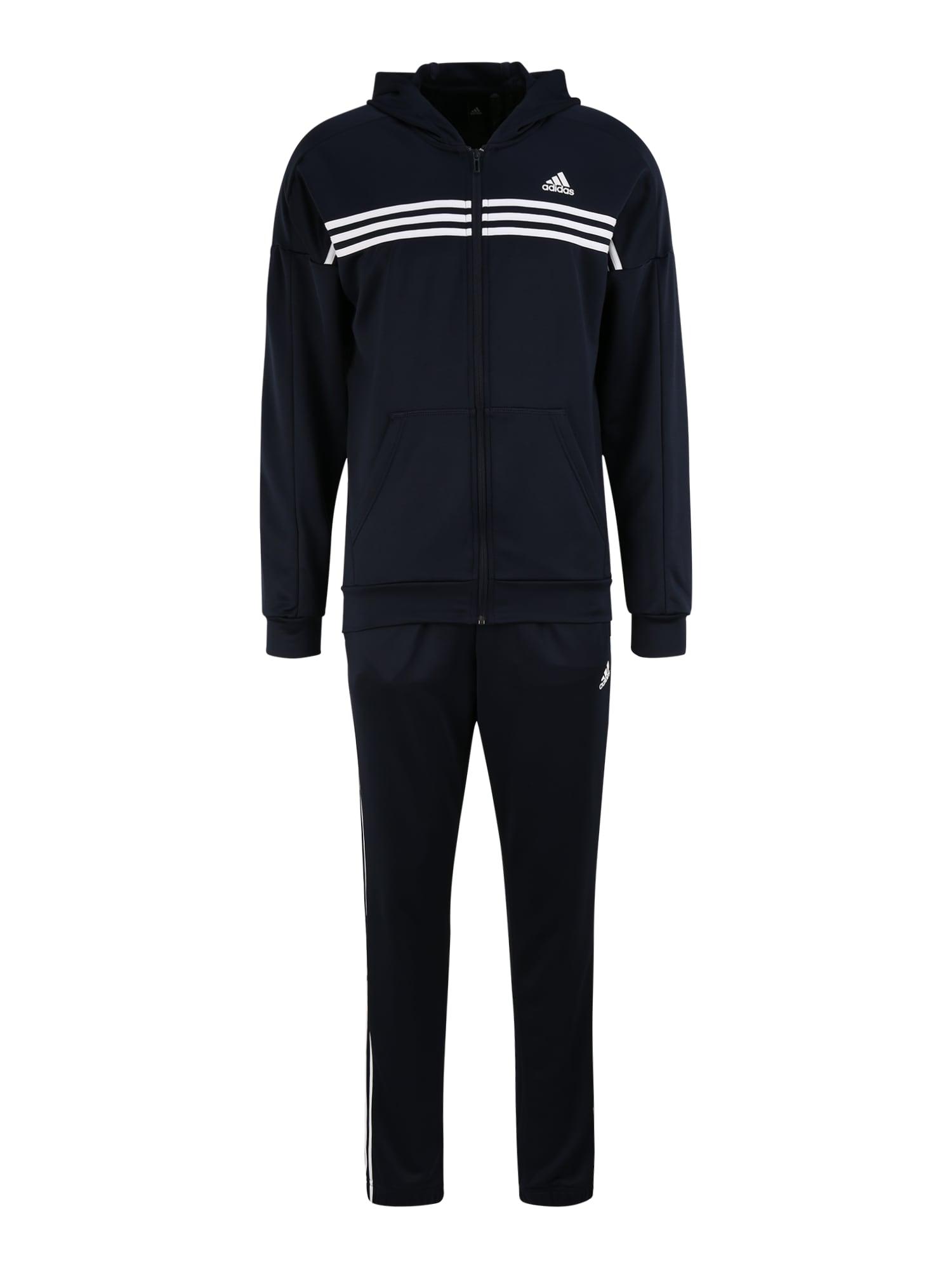 ADIDAS PERFORMANCE Treniruočių kostiumas 'Urban' balta / tamsiai mėlyna jūros spalva