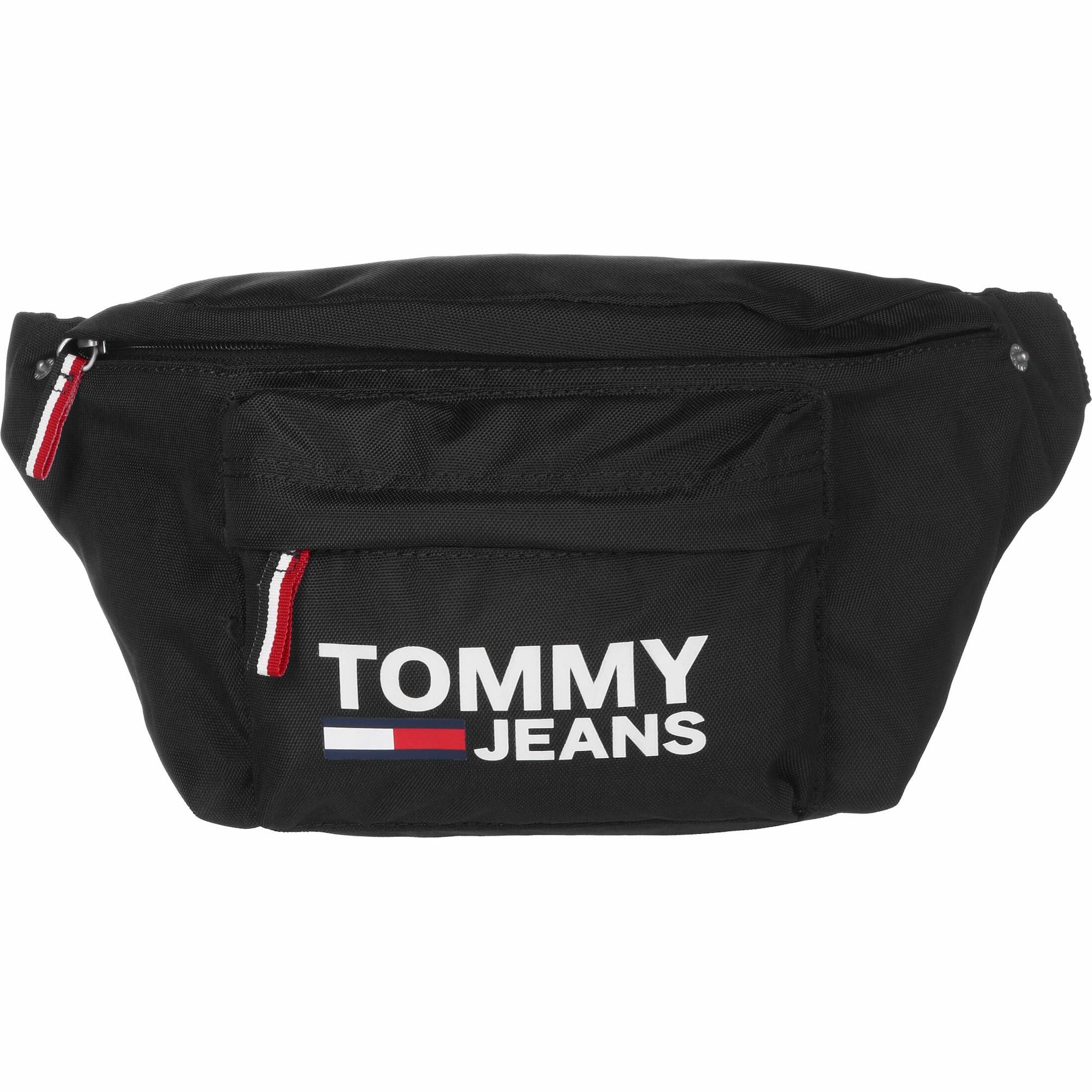 Tommy Jeans Ledvinka ' Cool City '  červená / bílá / černá