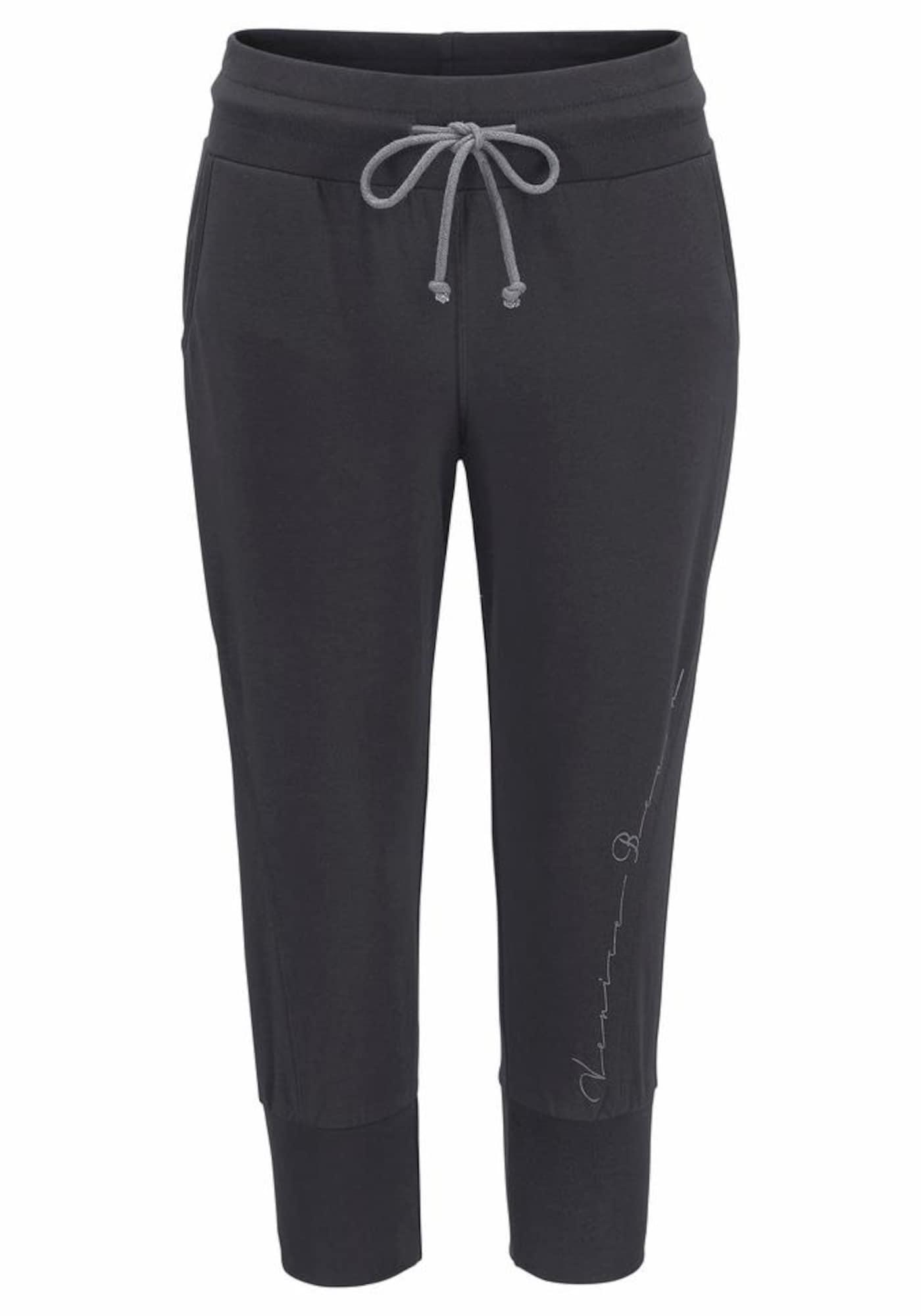 VENICE BEACH Kalhoty  antracitová
