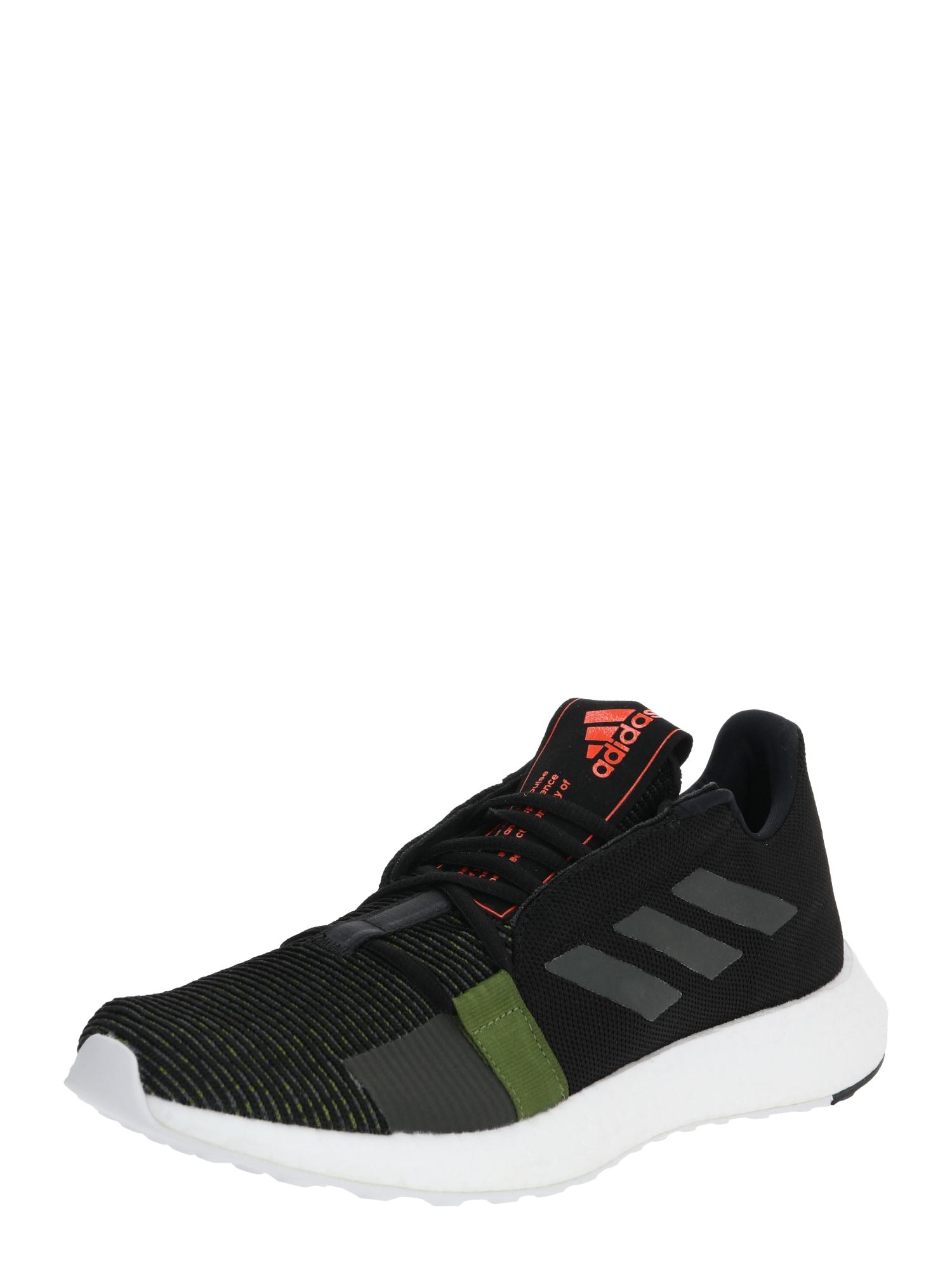 ADIDAS PERFORMANCE Bėgimo batai 'Sense Boost Go' juoda / pilka