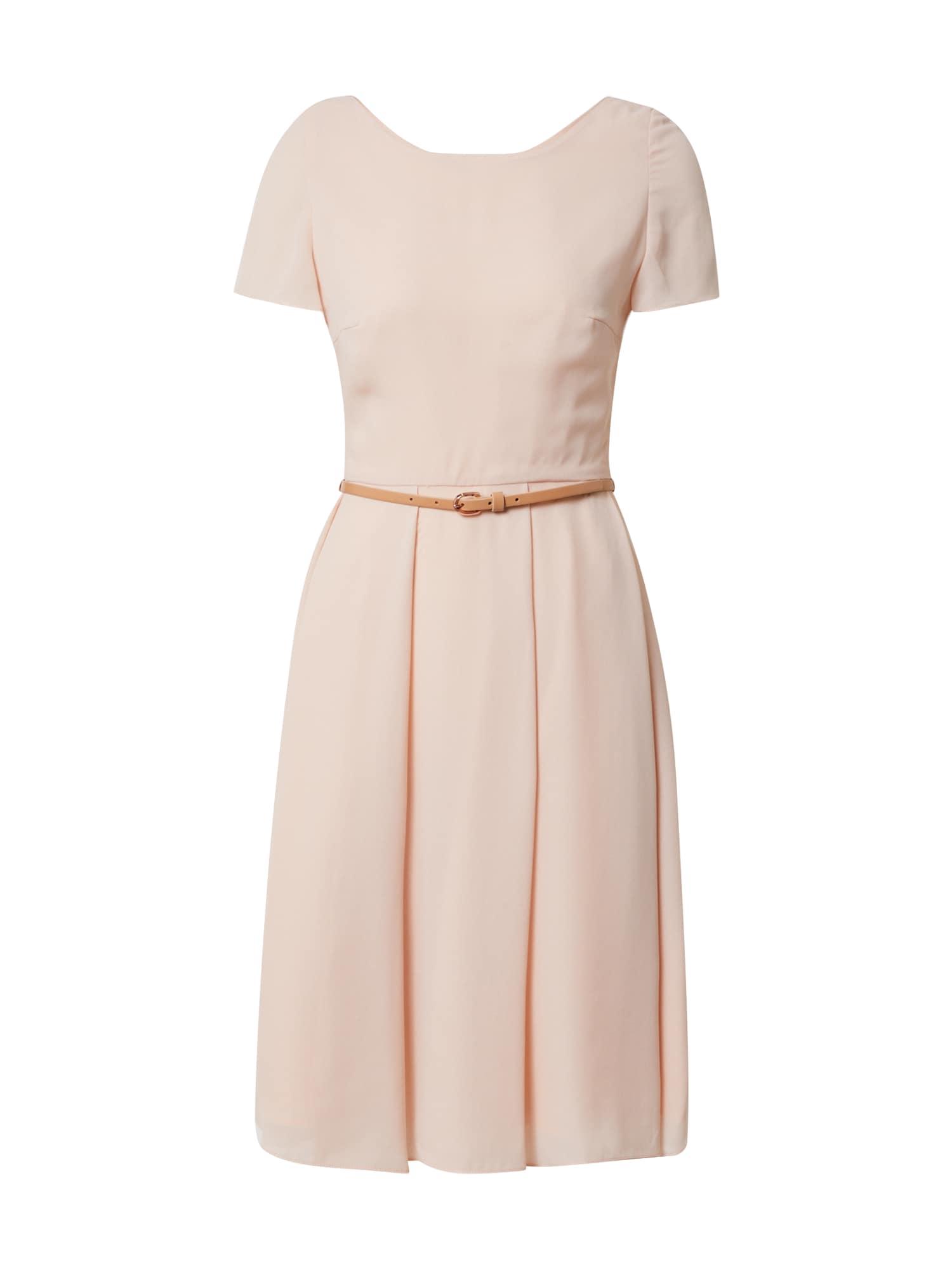 SWING Kokteilinė suknelė pastelinė rožinė