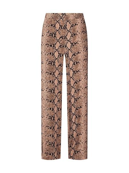 Hosen für Frauen - MORE MORE Hose 'Palazzo' creme braun  - Onlineshop ABOUT YOU