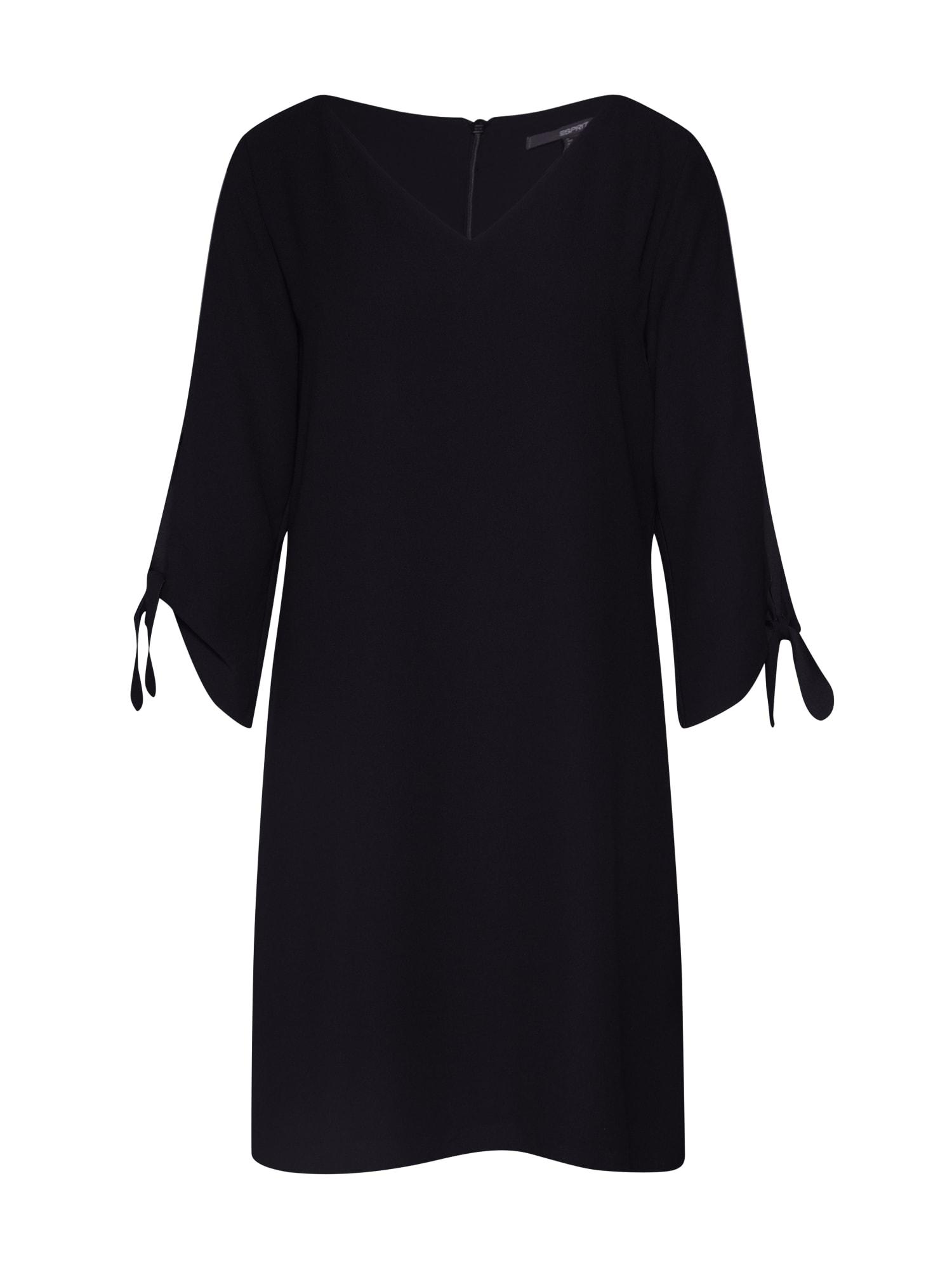 Esprit Collection Kokteilinė suknelė juoda