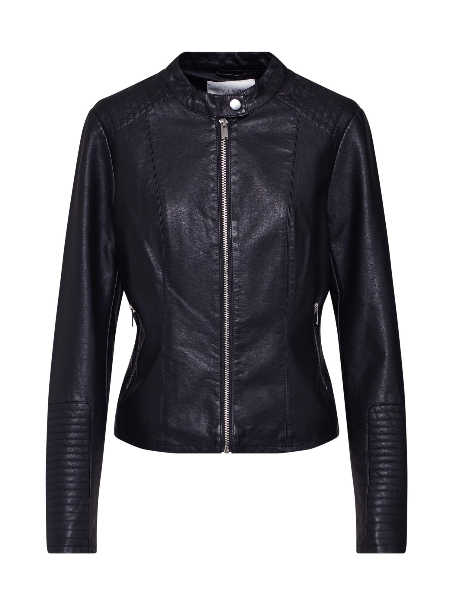 VILA Prechodná bunda  čierna