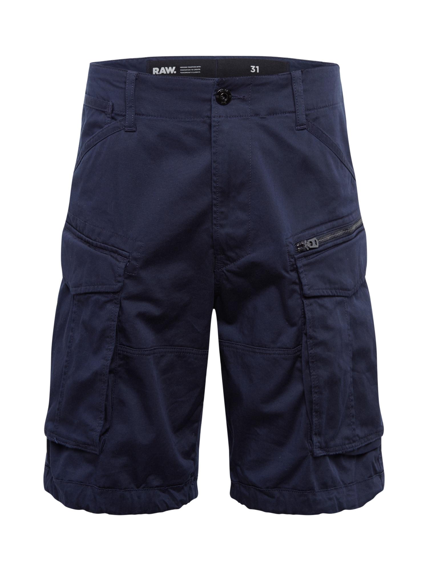 G-Star RAW Laisvo stiliaus kelnės 'Rovic' tamsiai mėlyna