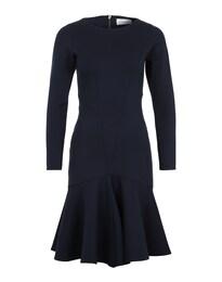Damen anliegendes Kleid blau | 05052508340121