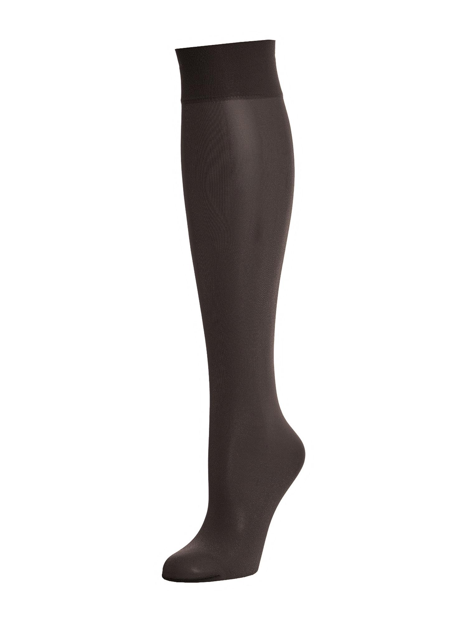 Wolford Kojinės iki kelių 'Satin Touch 20 Knee-Highs' juoda