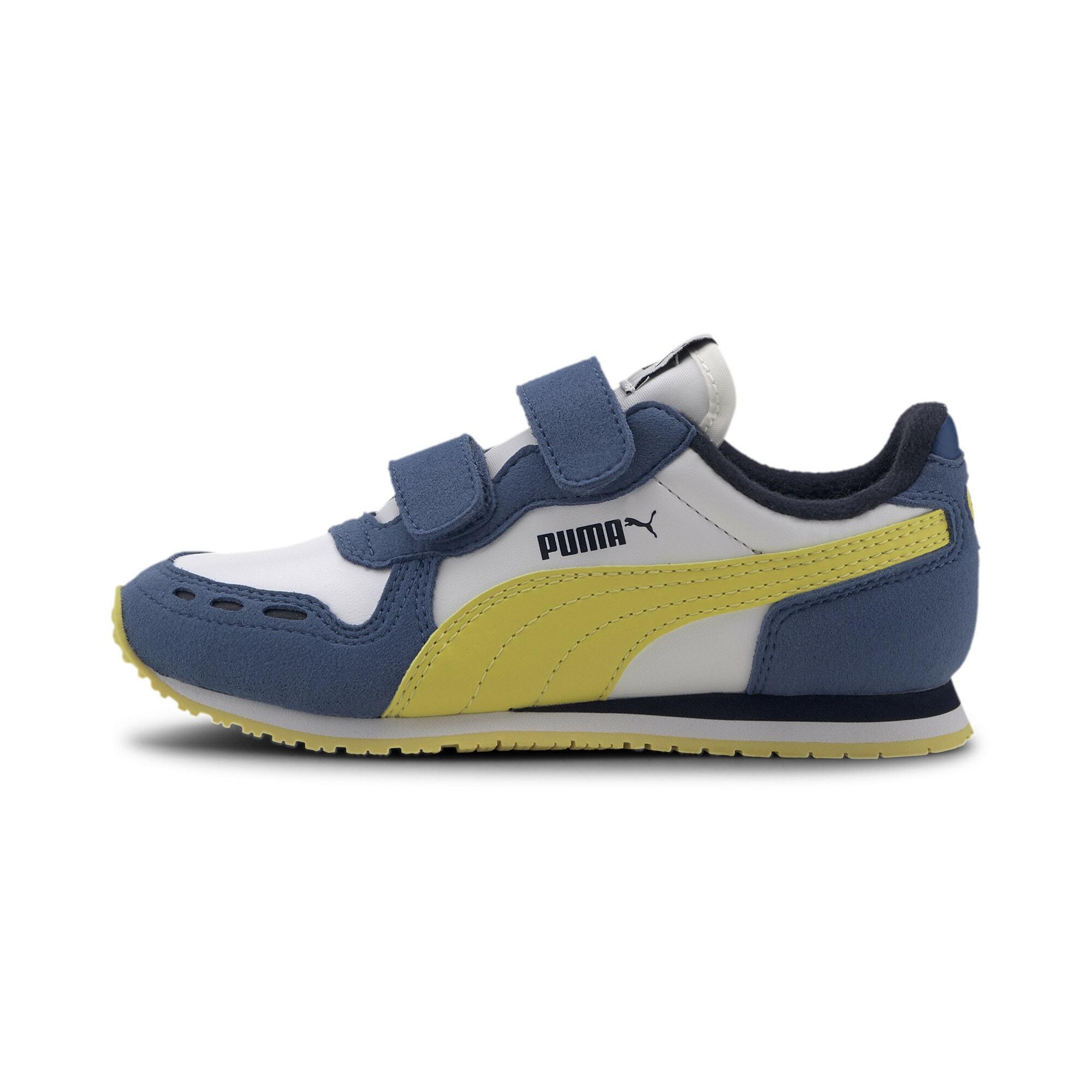 PUMA Tenisky 'Cabana Racer'  žlté / biela / modré