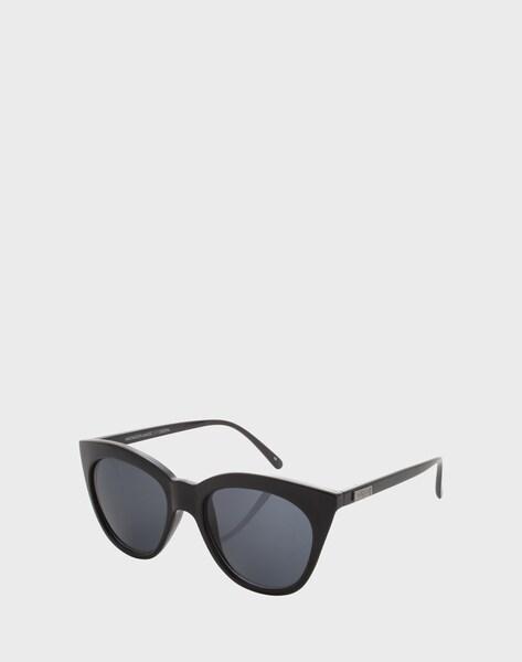 le specs sonnenbrille 39 halfmoon magic 39 in schwarz about you. Black Bedroom Furniture Sets. Home Design Ideas
