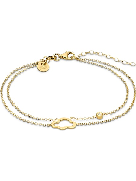 Armbaender für Frauen - Guido Maria Kretschmer Armband gold weiß  - Onlineshop ABOUT YOU