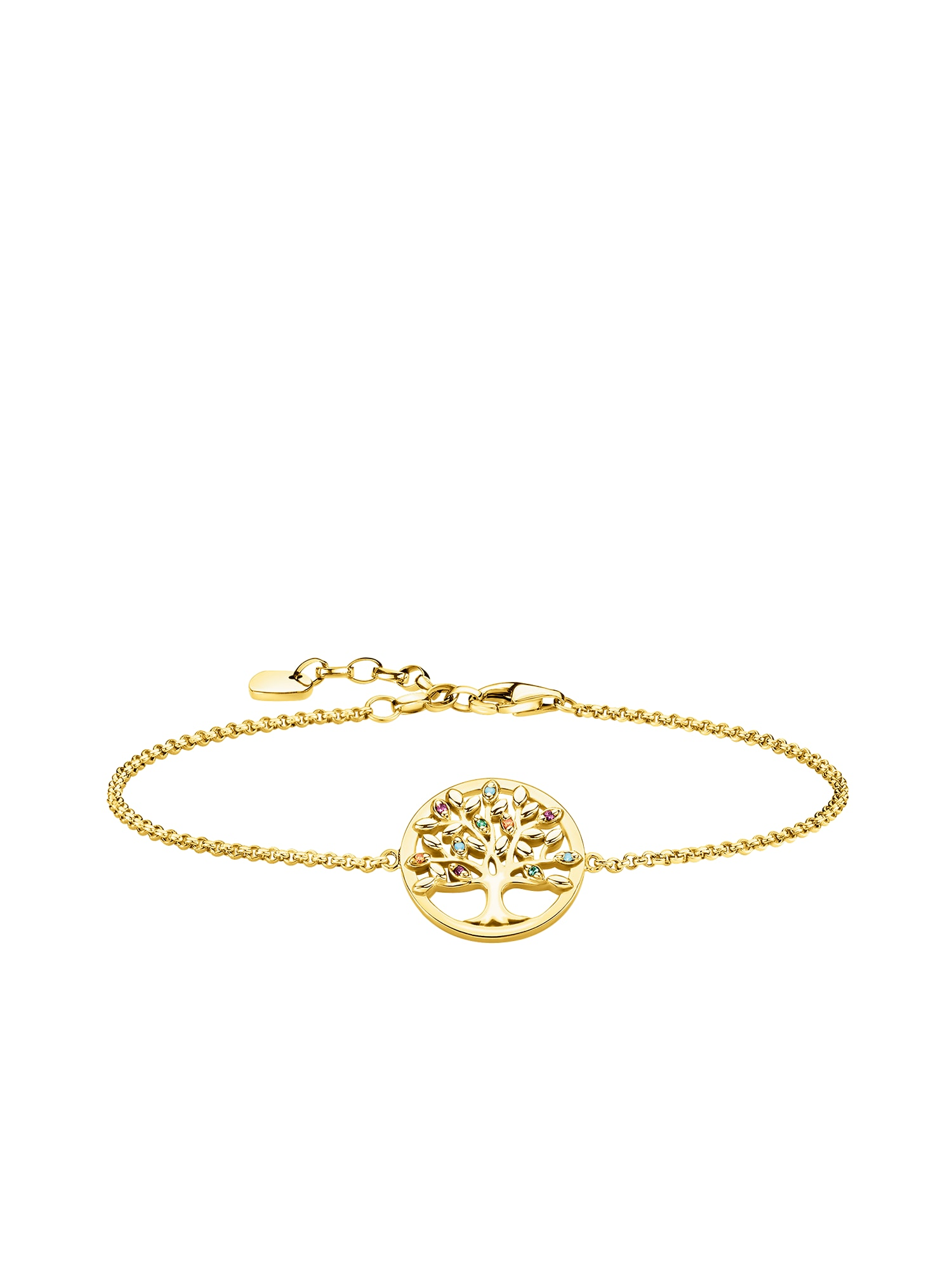 Náramek Tree of Love zlatá Thomas Sabo