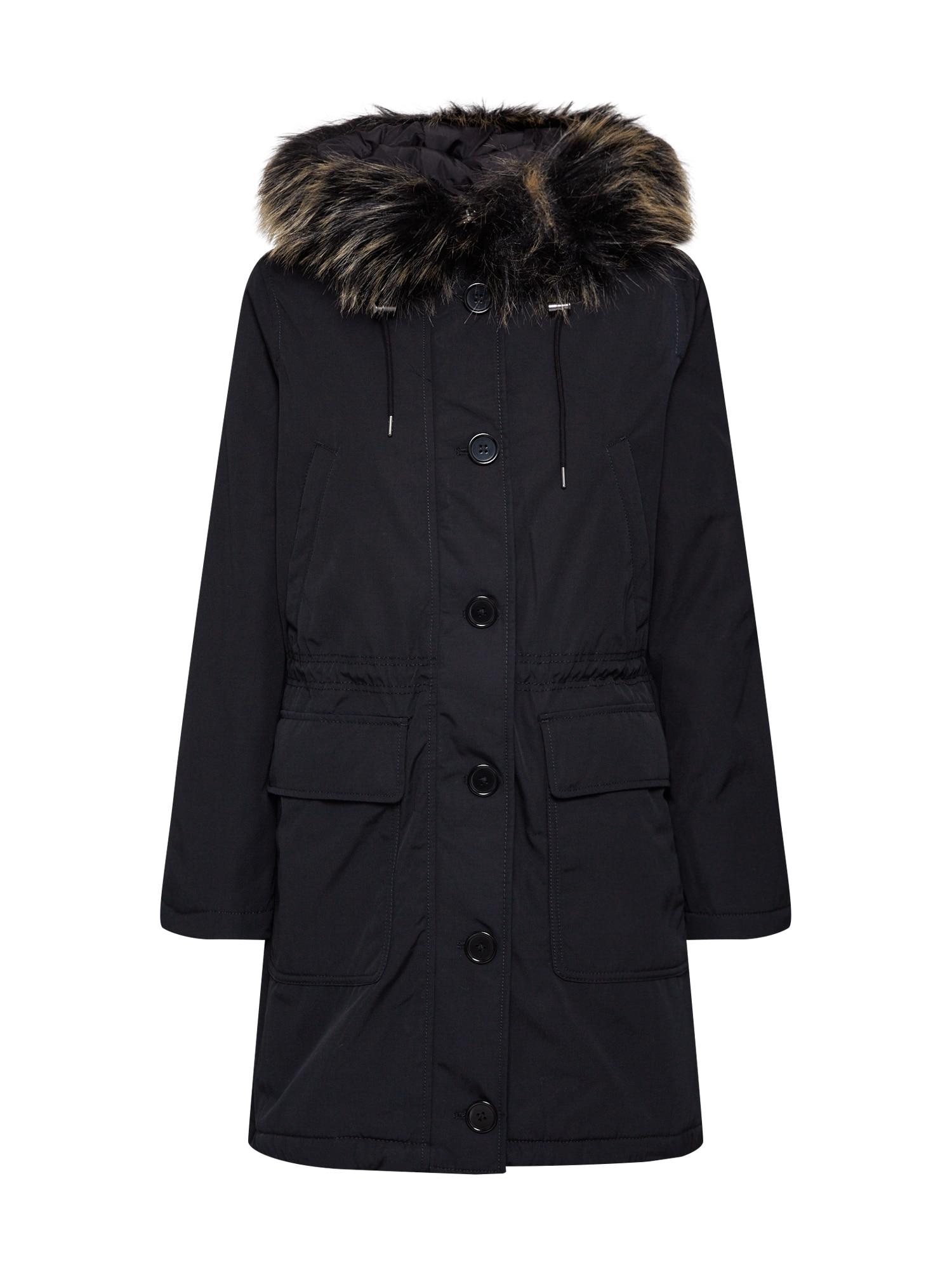 GAP Ilga rudeninė-žieminė striukė 'LUXE' juoda