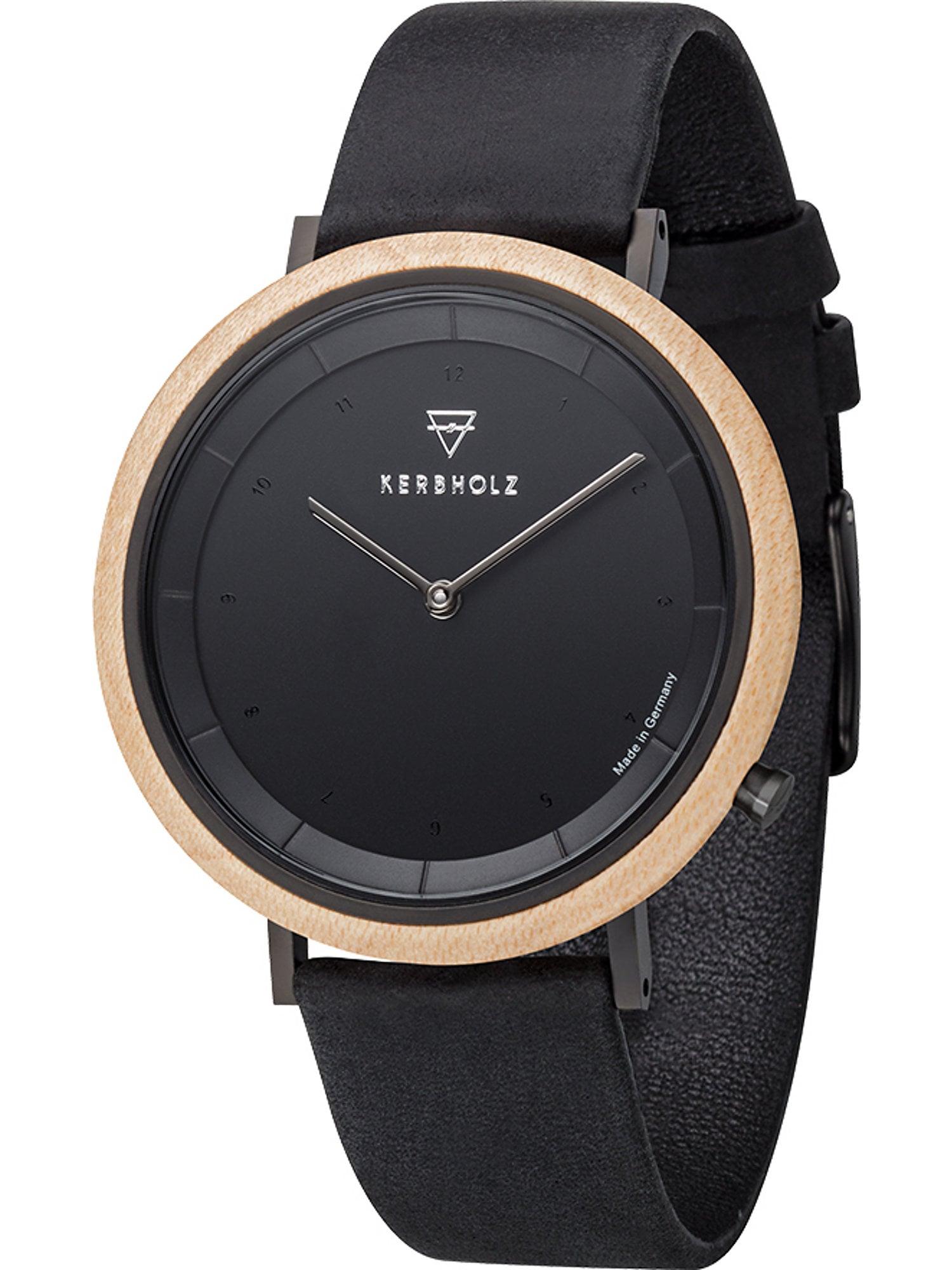 Armbanduhr 'Slim' | Uhren > Sonstige Armbanduhren | Kerbholz