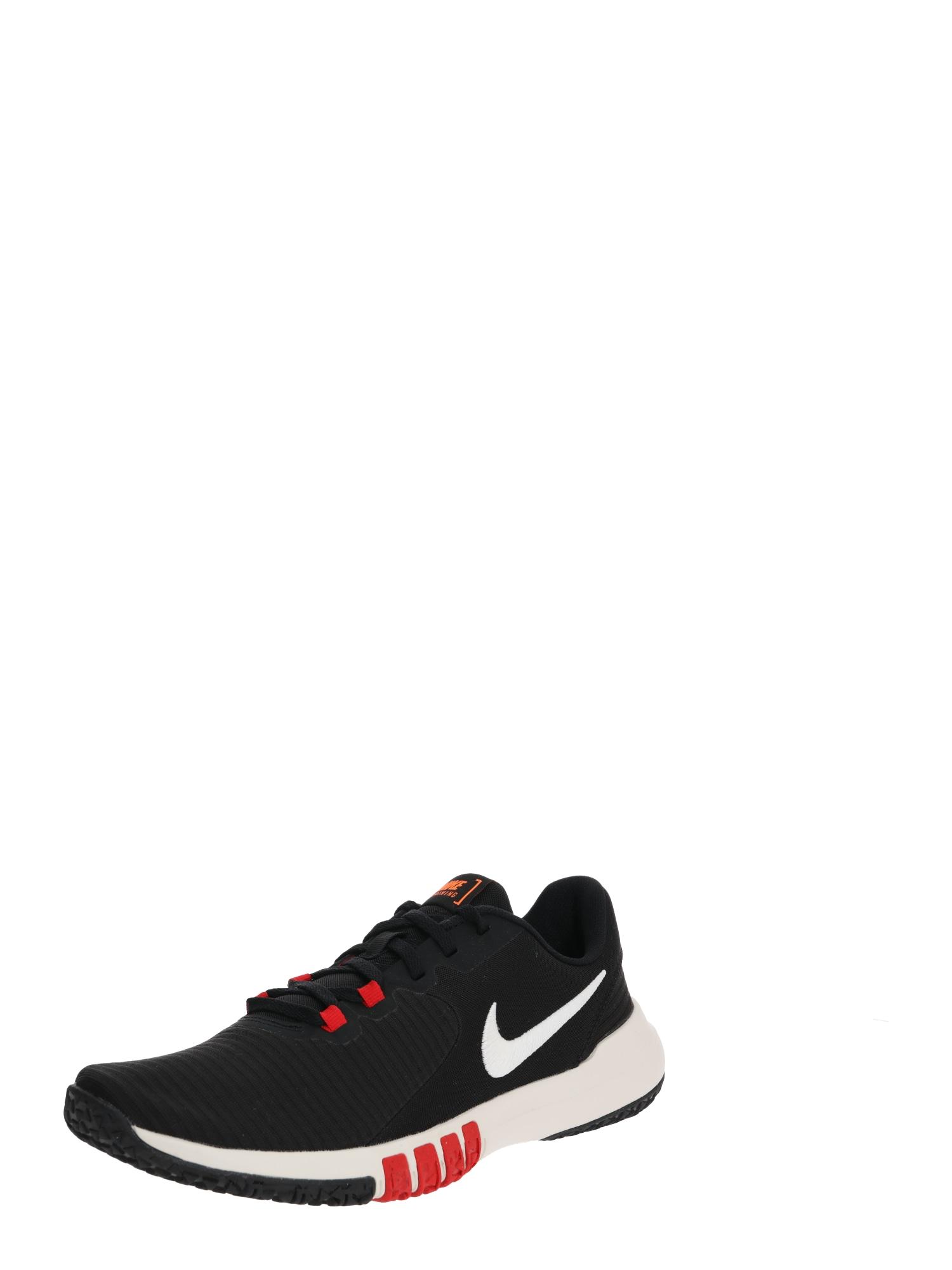 NIKE Bėgimo batai 'Flex Control 4' raudona / juoda / mėlyna