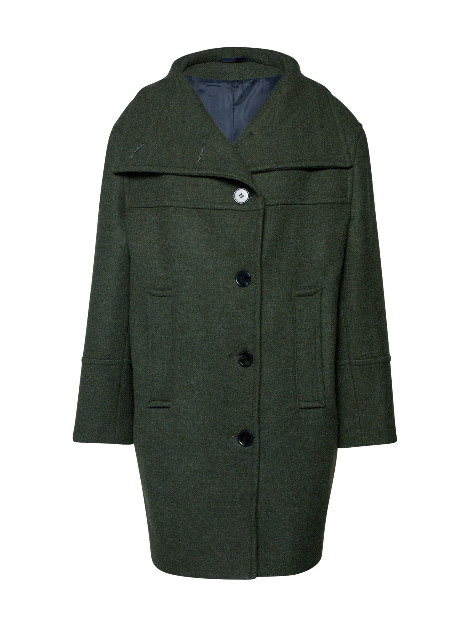 EDITED Rudeninis-žieminis paltas 'Clover' žalia