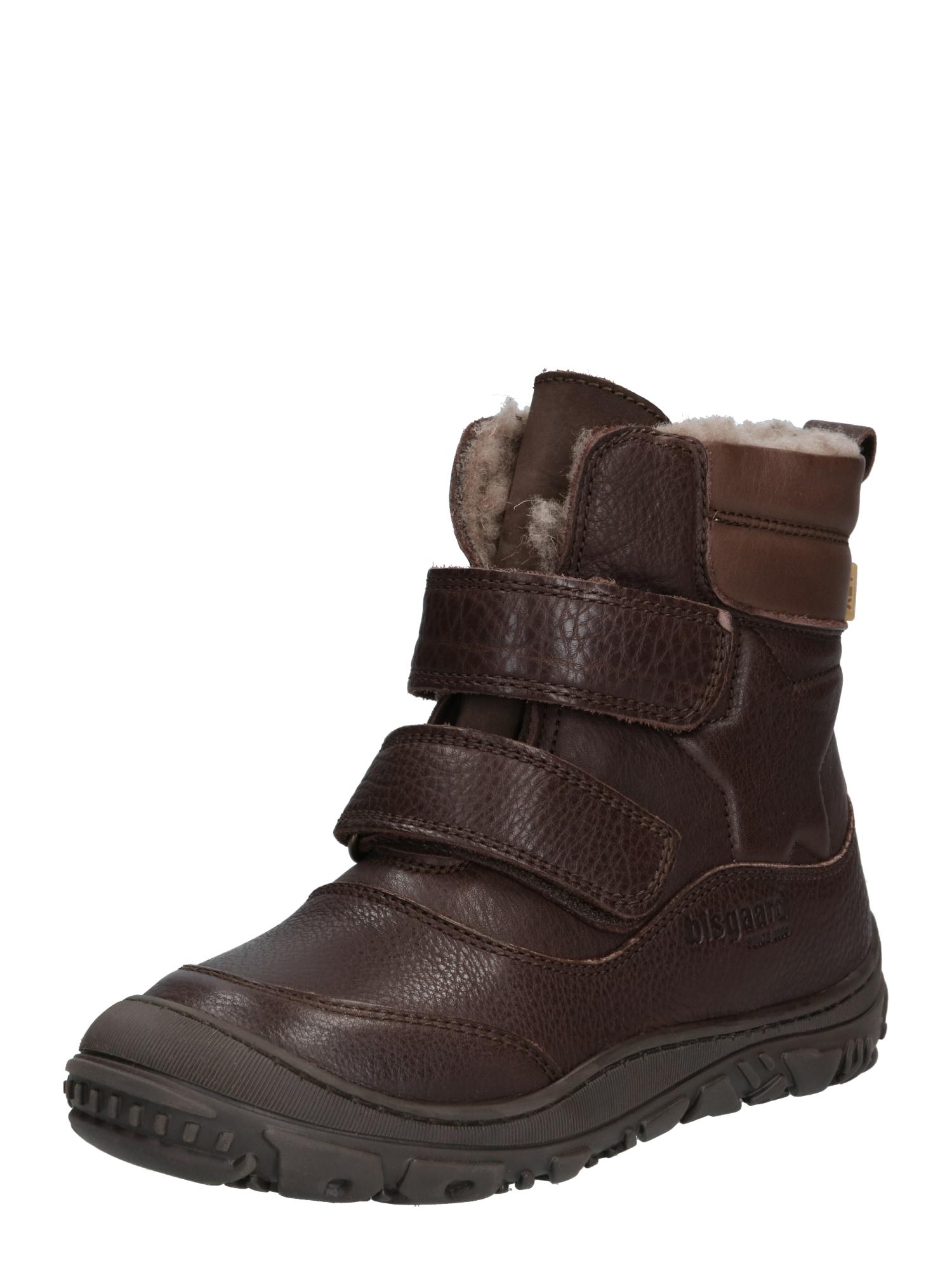 BISGAARD Auliniai batai su kulniuku 'TEX' ruda