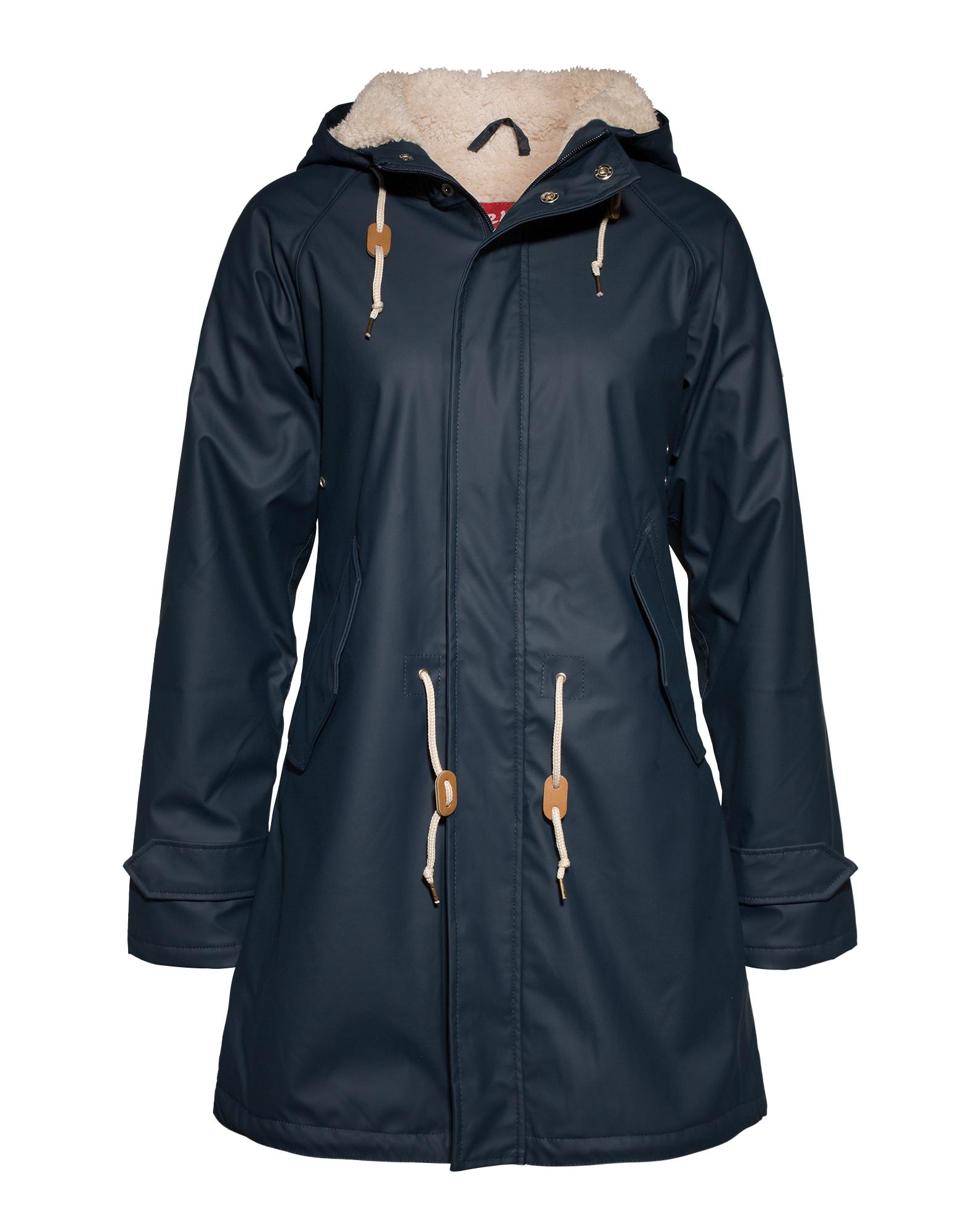 Derbe Rudeninis-žieminis paltas tamsiai mėlyna