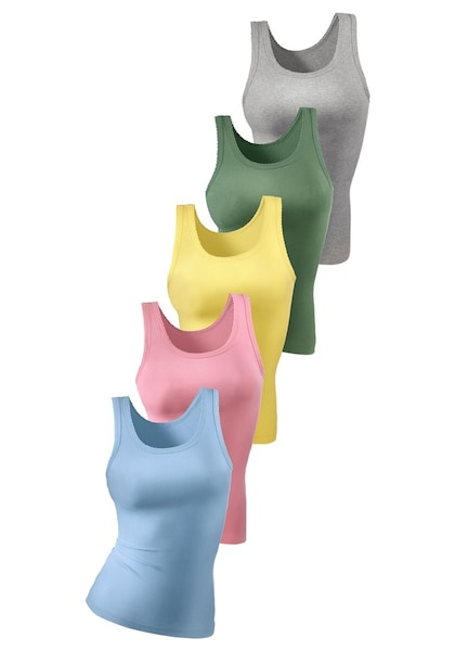 Bademode - Unterhemd › PETITE FLEUR › rosa blau gelb grau grün  - Onlineshop ABOUT YOU
