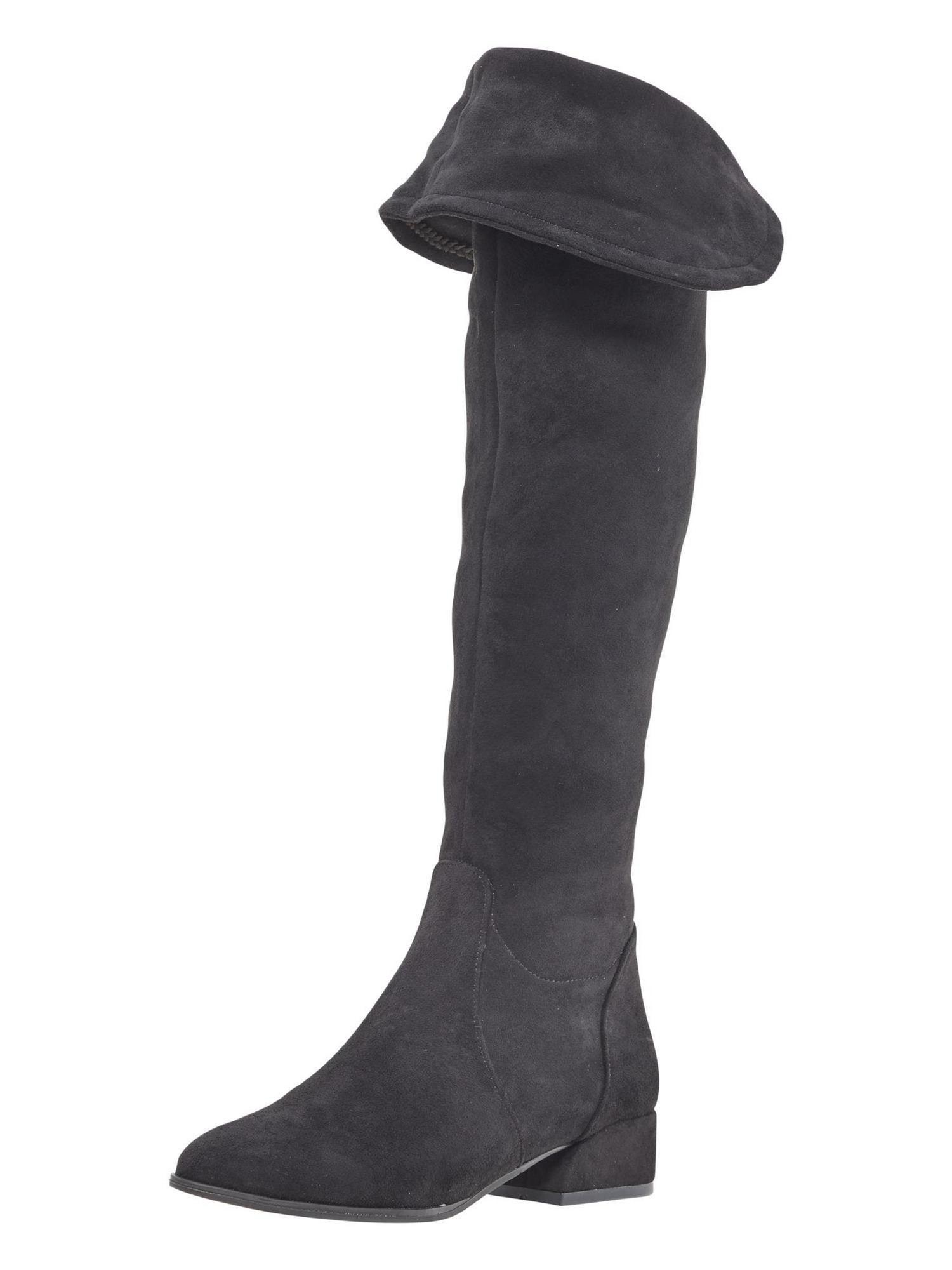 ANDREA CONTI Ilgaauliai batai virš kelių juoda