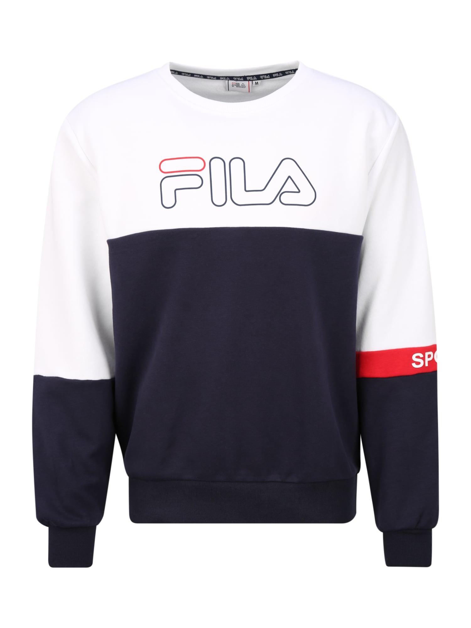 FILA Sportinio tipo megztinis 'LARRY' raudona / juoda / balta