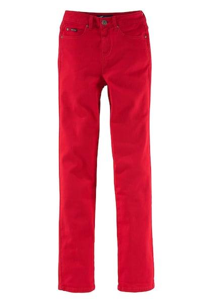 Hosen - Bequeme Jeans 'Gerade Jeans mit klassicher Leibhöhe' › ARIZONA › hellrot  - Onlineshop ABOUT YOU
