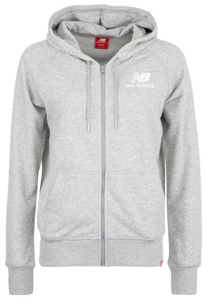 Jacken für Frauen - New Balance Jacke graumeliert weiß  - Onlineshop ABOUT YOU