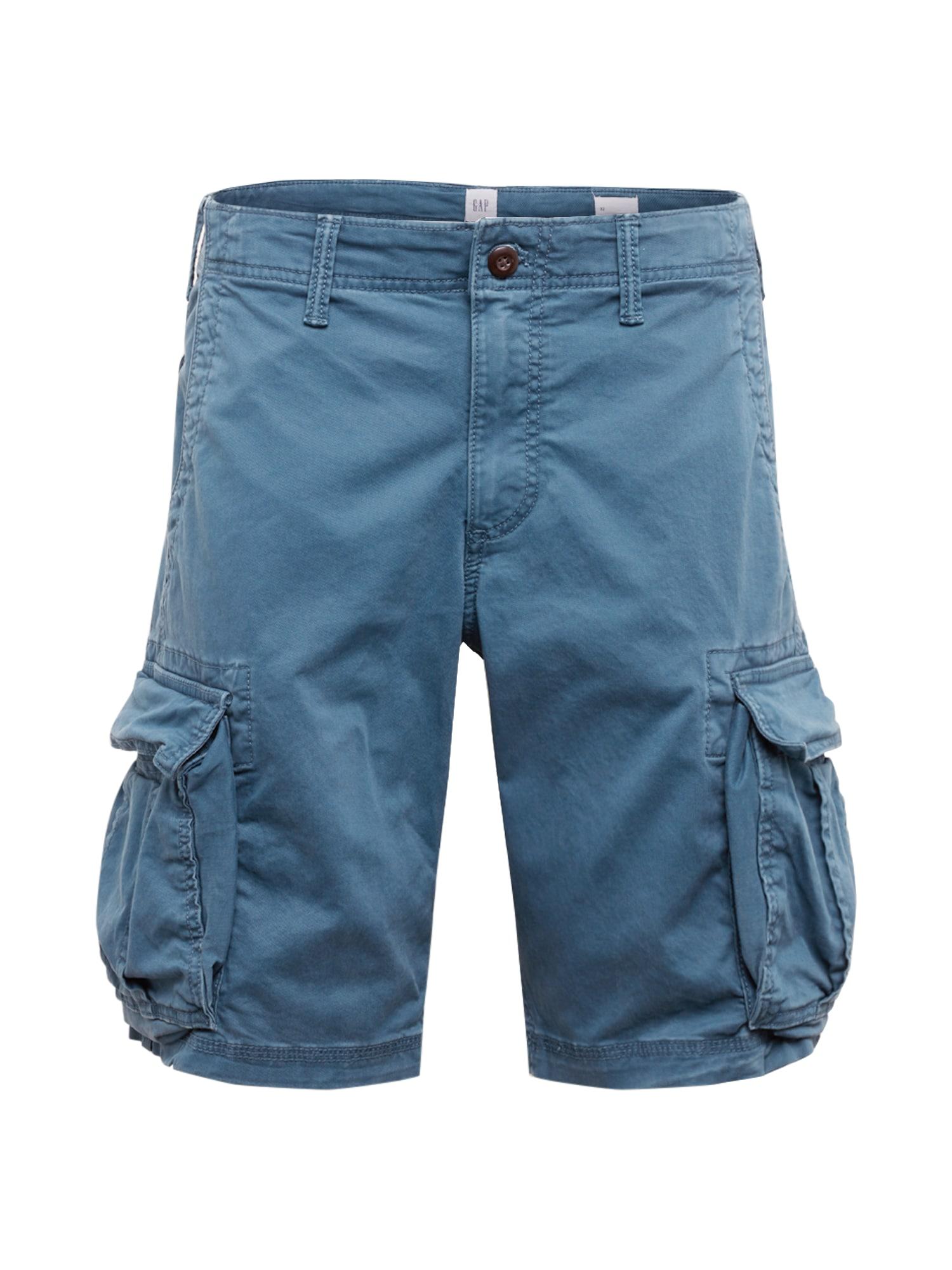 GAP Laisvo stiliaus kelnės mėlyna