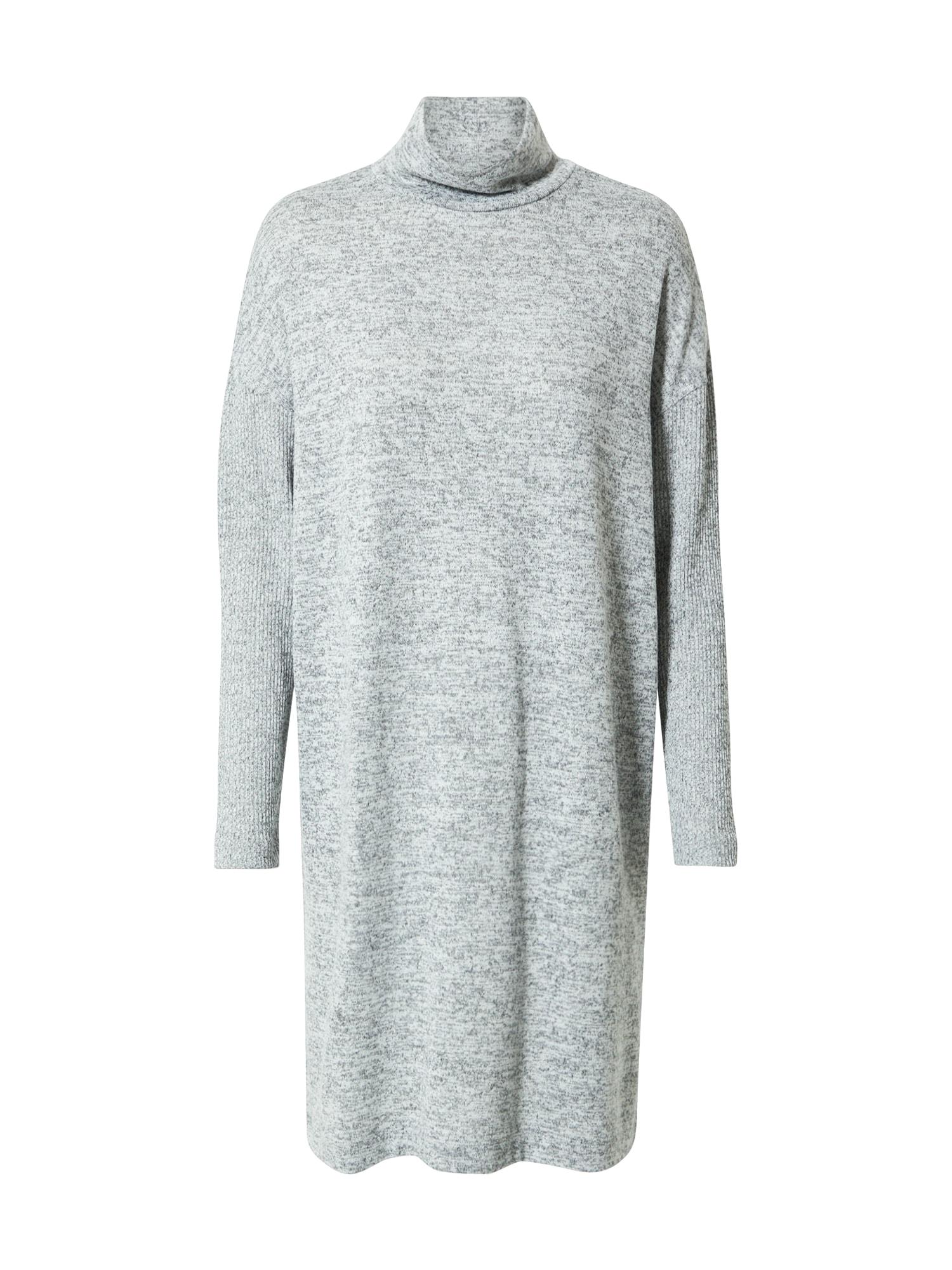 OPUS Úpletové šaty 'Wamise'  šedý melír