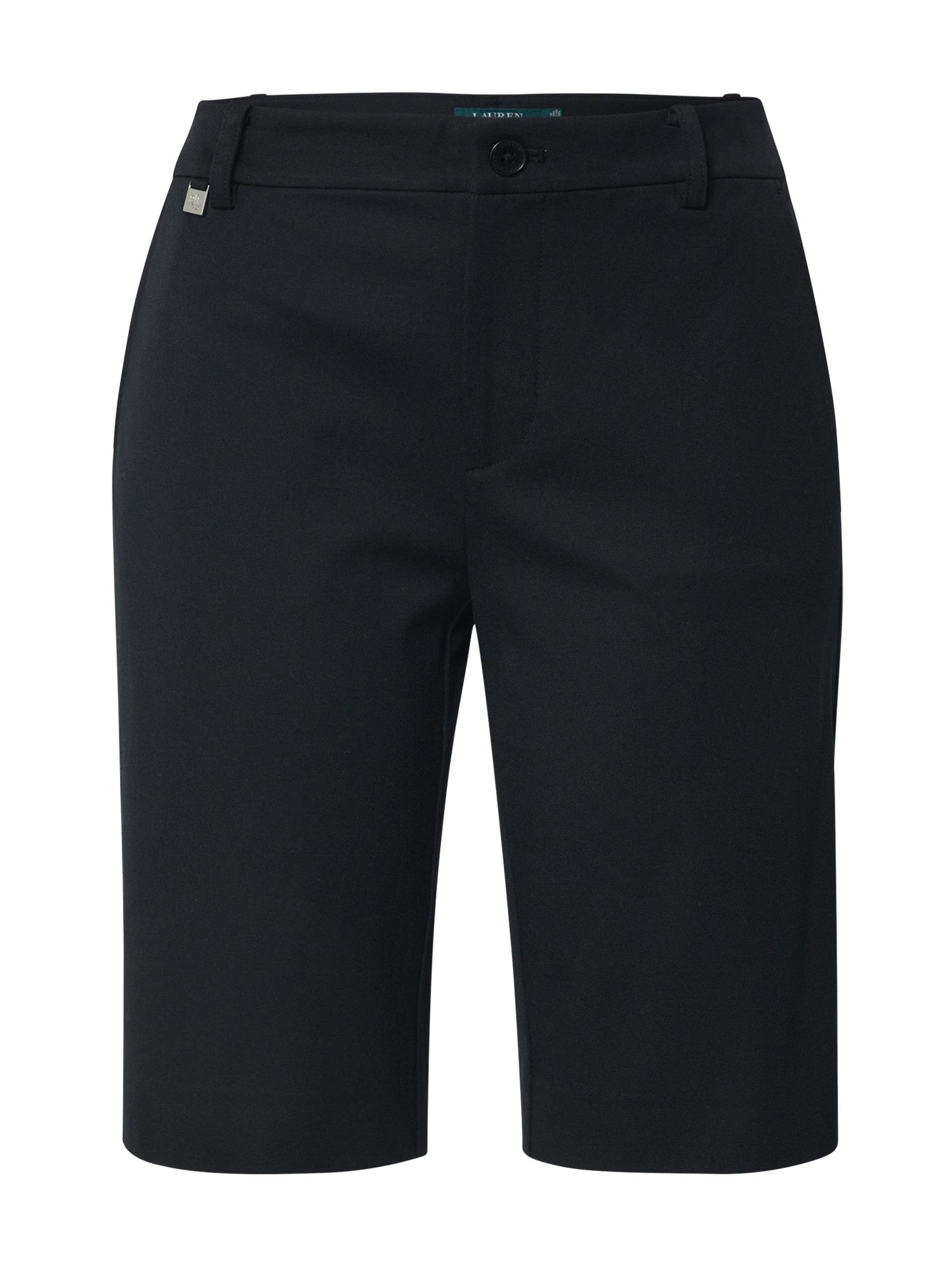 Lauren Ralph Lauren Pantaloni 'REALEEN'  negru