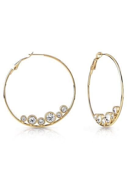 Ohrringe für Frauen - GUESS Creolen 'All Around, UBE28100' gold  - Onlineshop ABOUT YOU