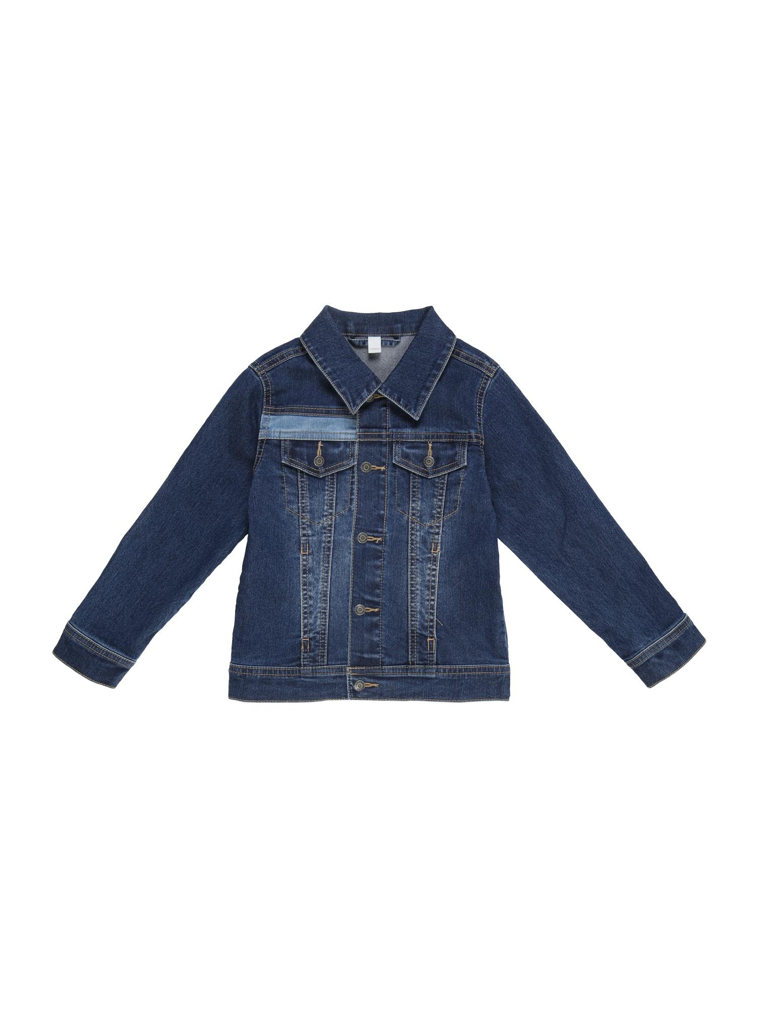 Přechodná bunda modrá džínovina ESPRIT