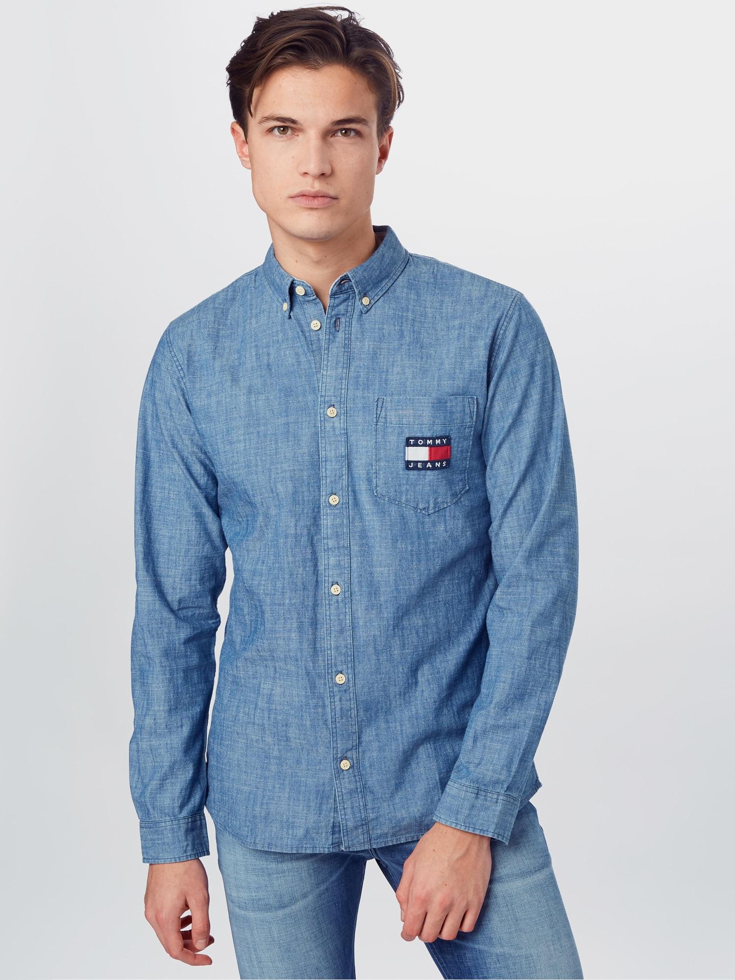 Tommy Jeans Skjorta  indigo