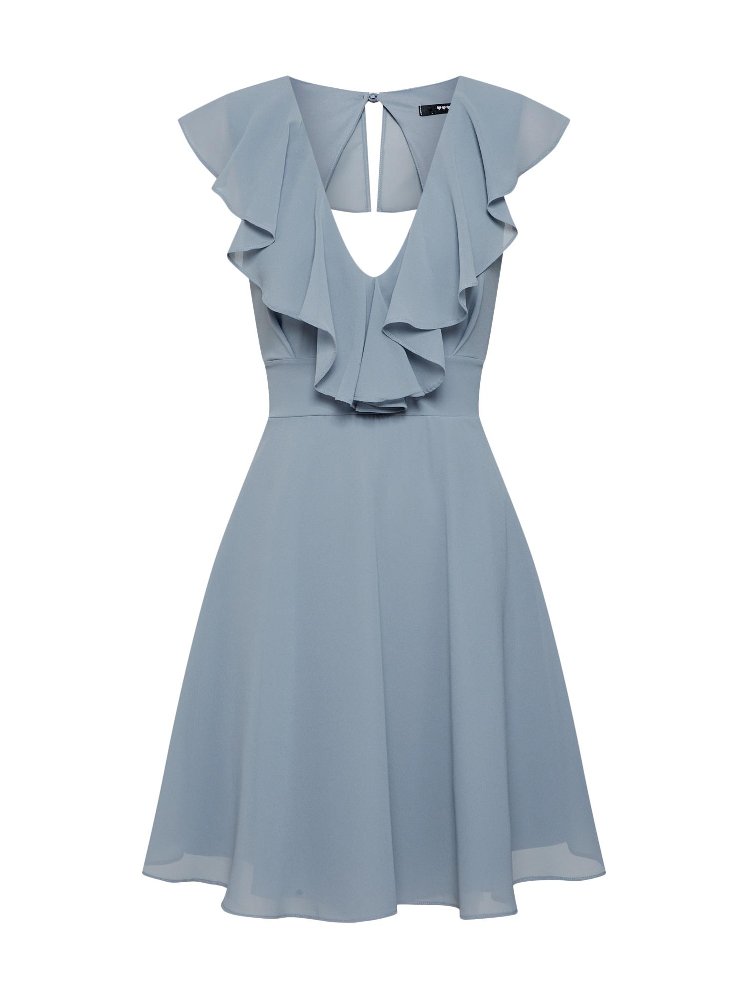 TFNC Kokteilinė suknelė mėlyna / pilka