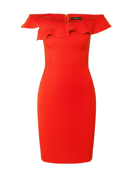 Festtagsmode - Kleid 'LUPE' › Guess › rot  - Onlineshop ABOUT YOU